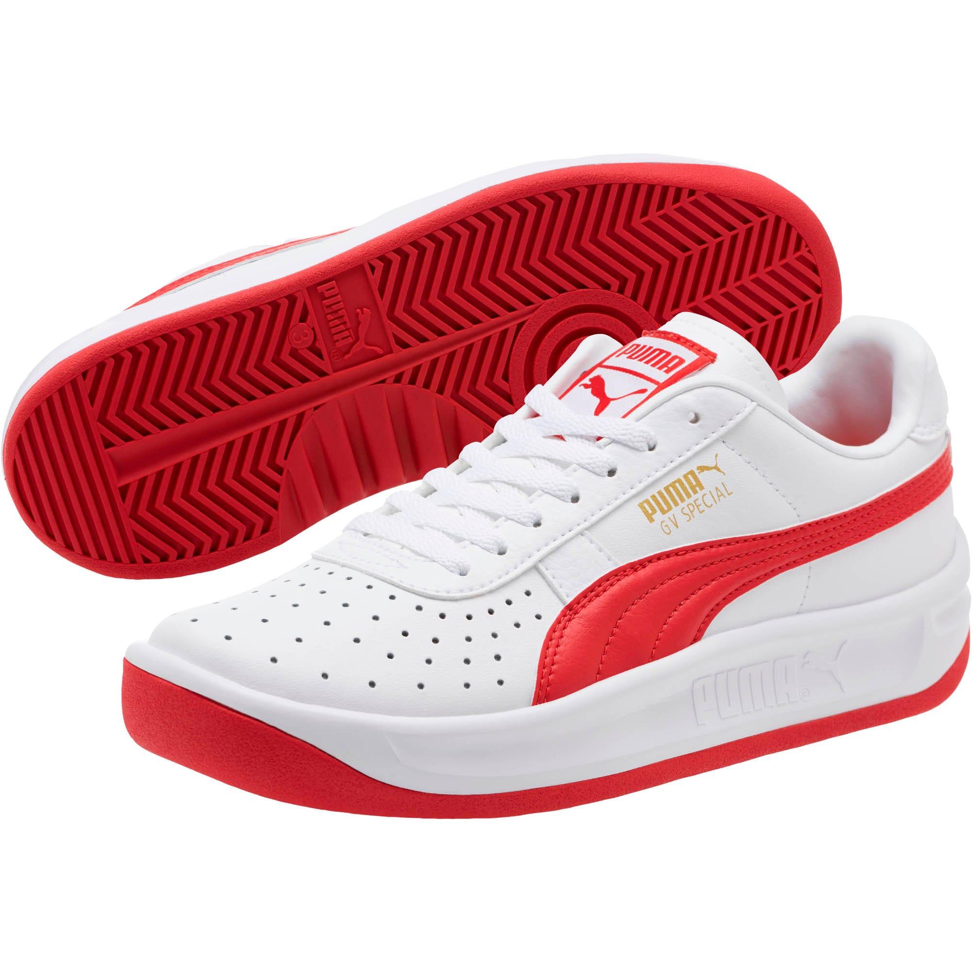 Miniatura 2 de Zapatos deportivos GV Special JR, Puma White-Ribbon Red, mediano