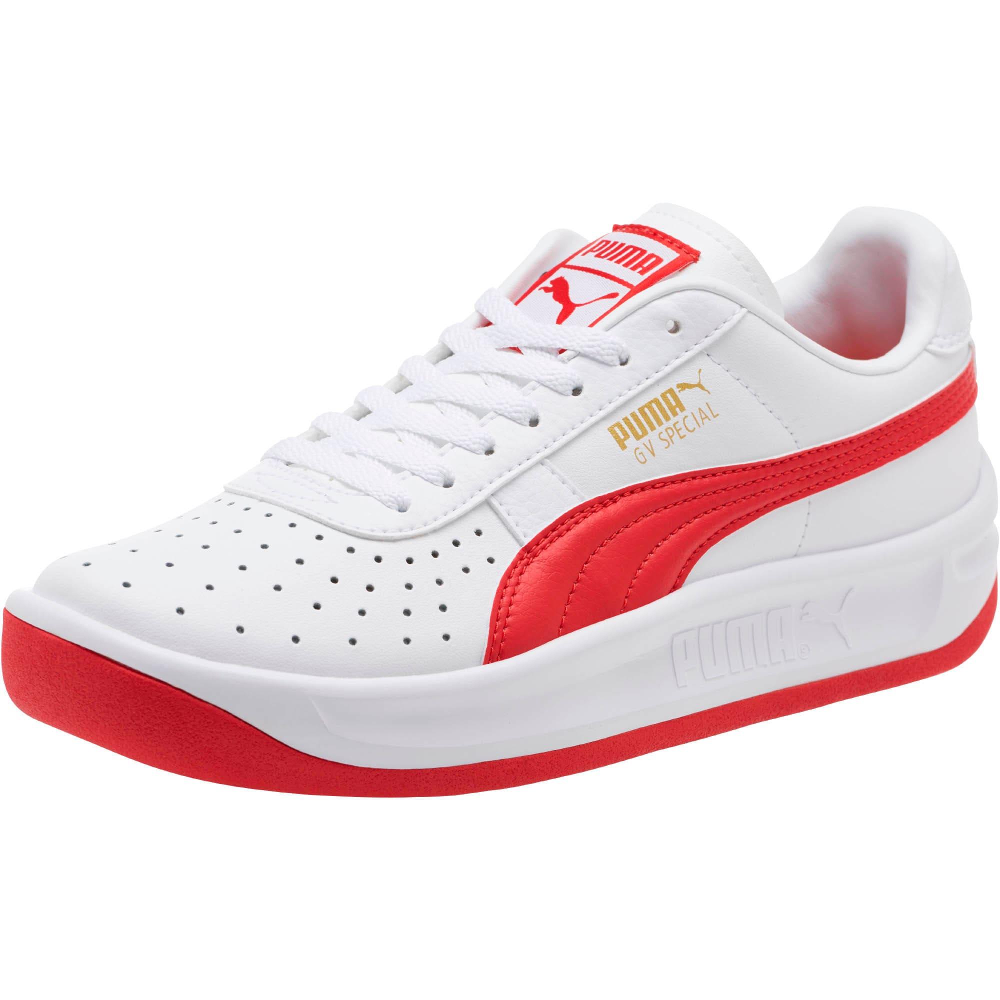 Miniatura 1 de Zapatos deportivos GV Special JR, Puma White-Ribbon Red, mediano
