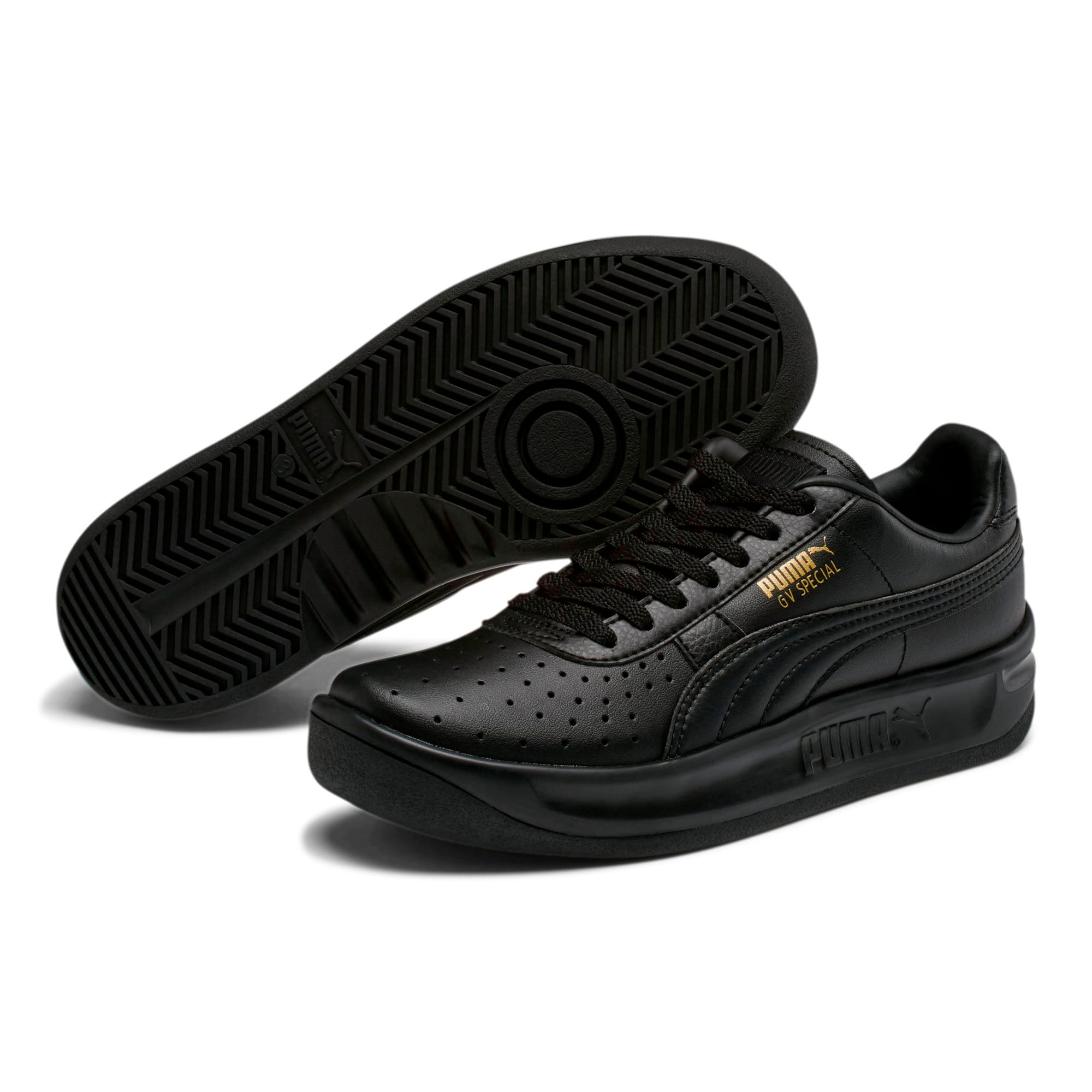 Thumbnail 2 of GV Special Sneakers JR, Puma Black-Puma Team Gold, medium