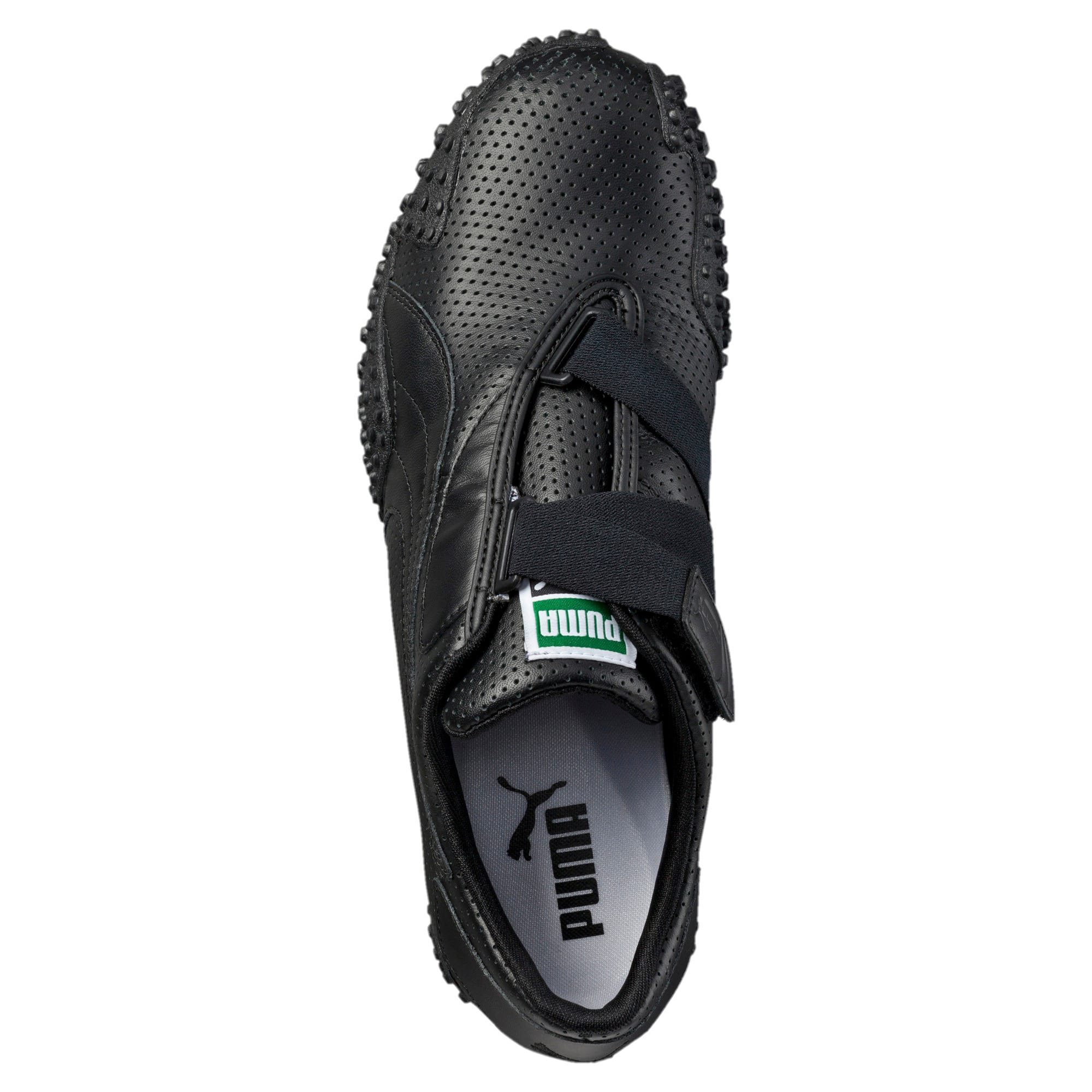 PUMA MOSTRO Perf Leather Shoes 8 Black for sale online   eBay