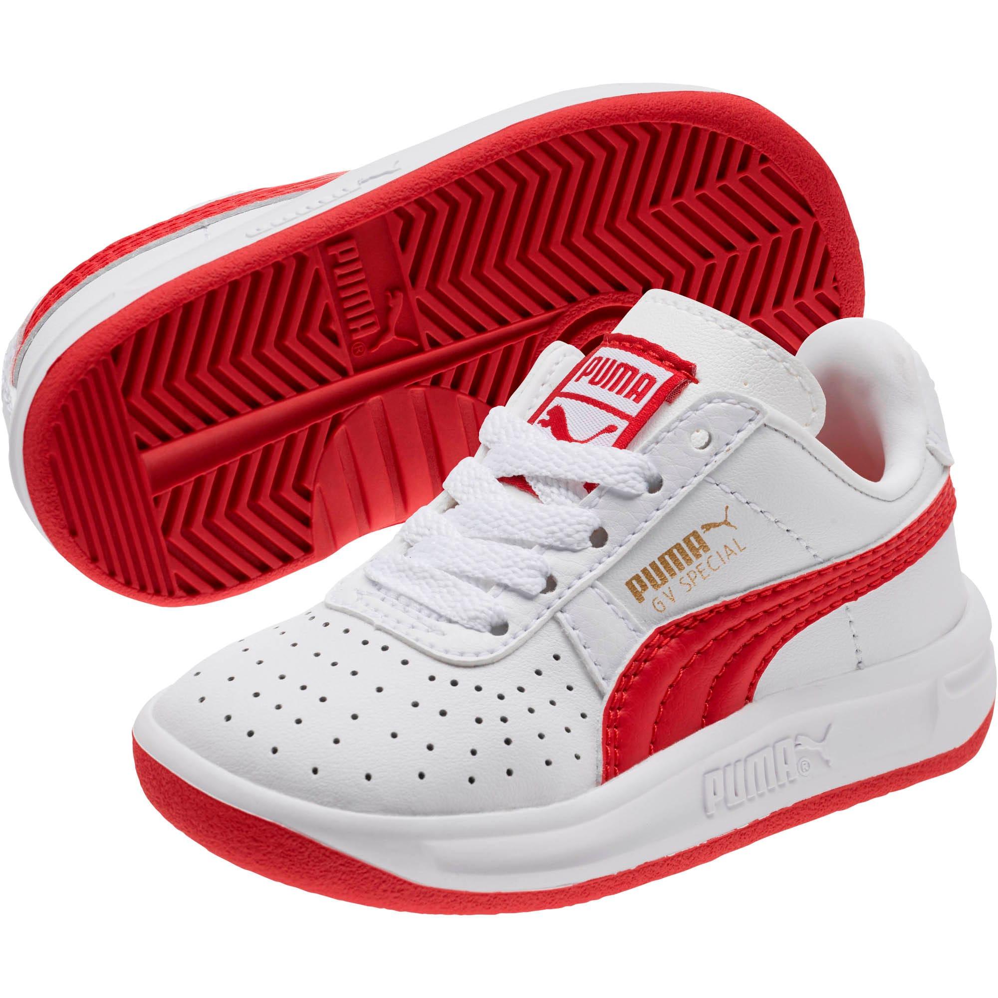 Thumbnail 2 of GV Special Toddler Shoes, Puma White-Ribbon Red, medium