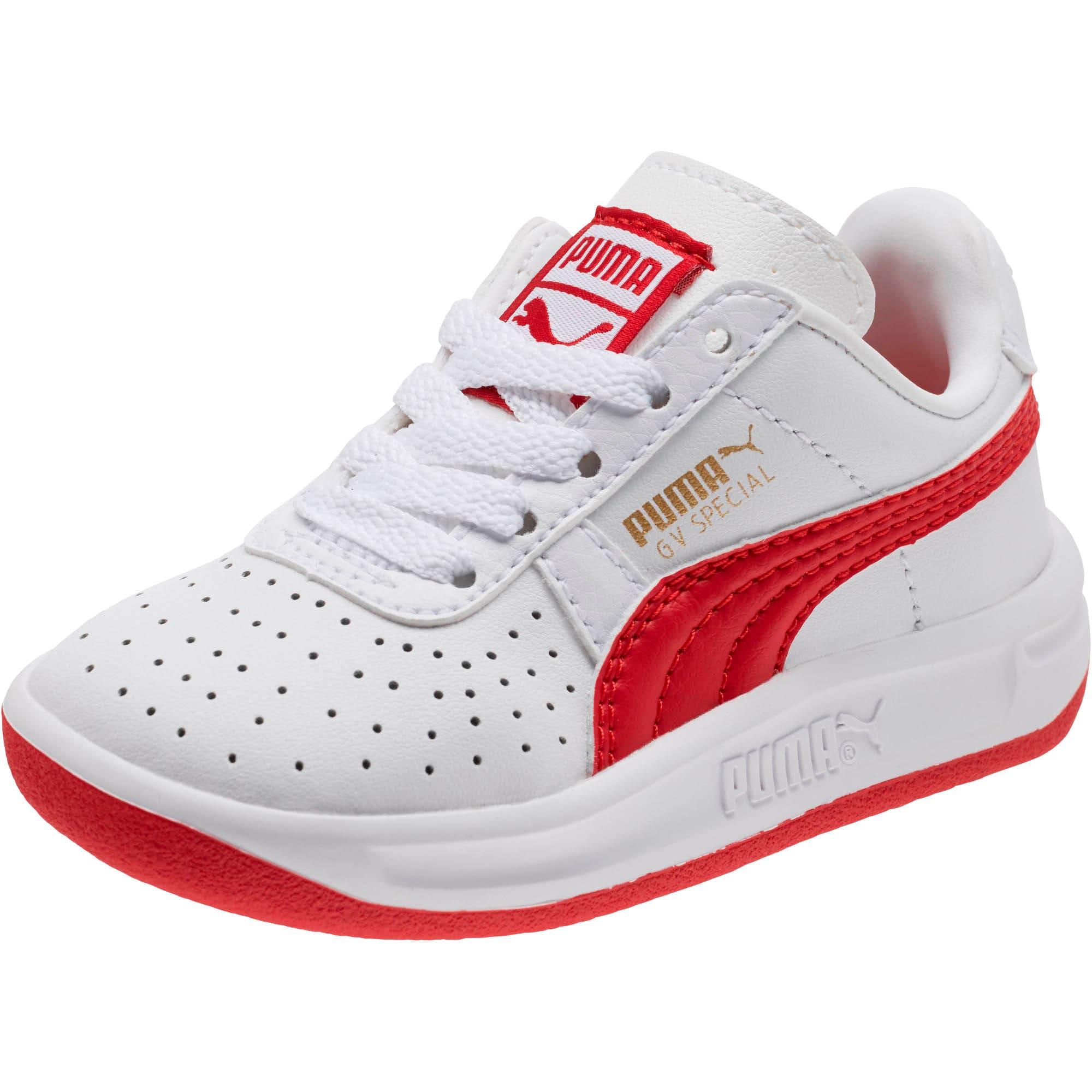 Thumbnail 1 of GV Special Toddler Shoes, Puma White-Ribbon Red, medium