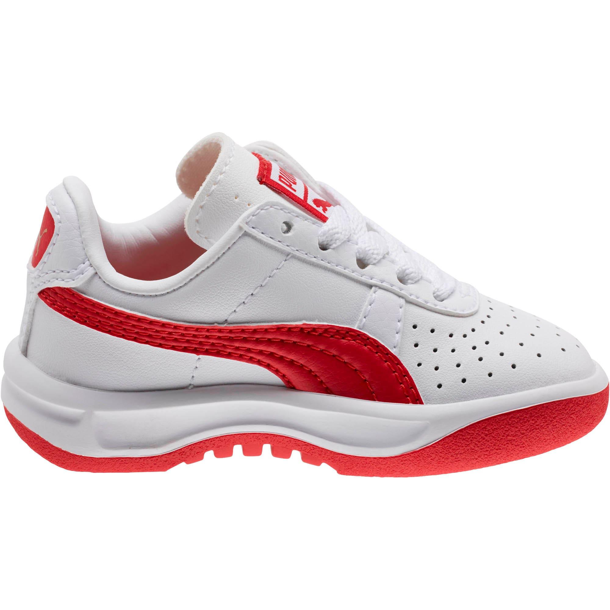 Thumbnail 3 of GV Special Toddler Shoes, Puma White-Ribbon Red, medium
