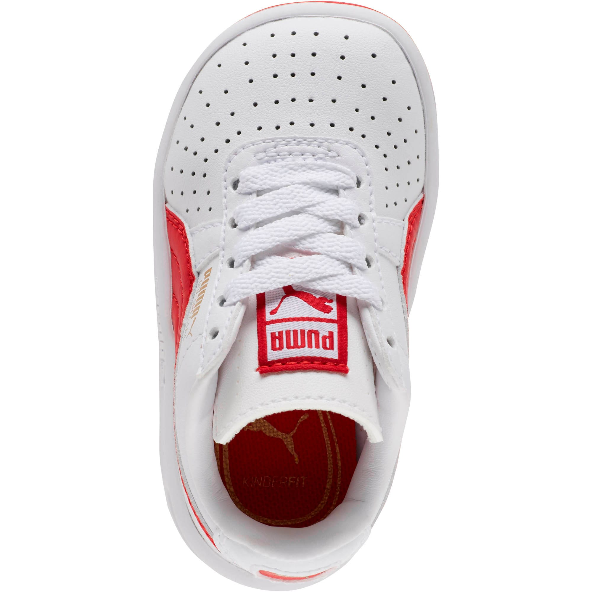 Thumbnail 5 of GV Special Toddler Shoes, Puma White-Ribbon Red, medium