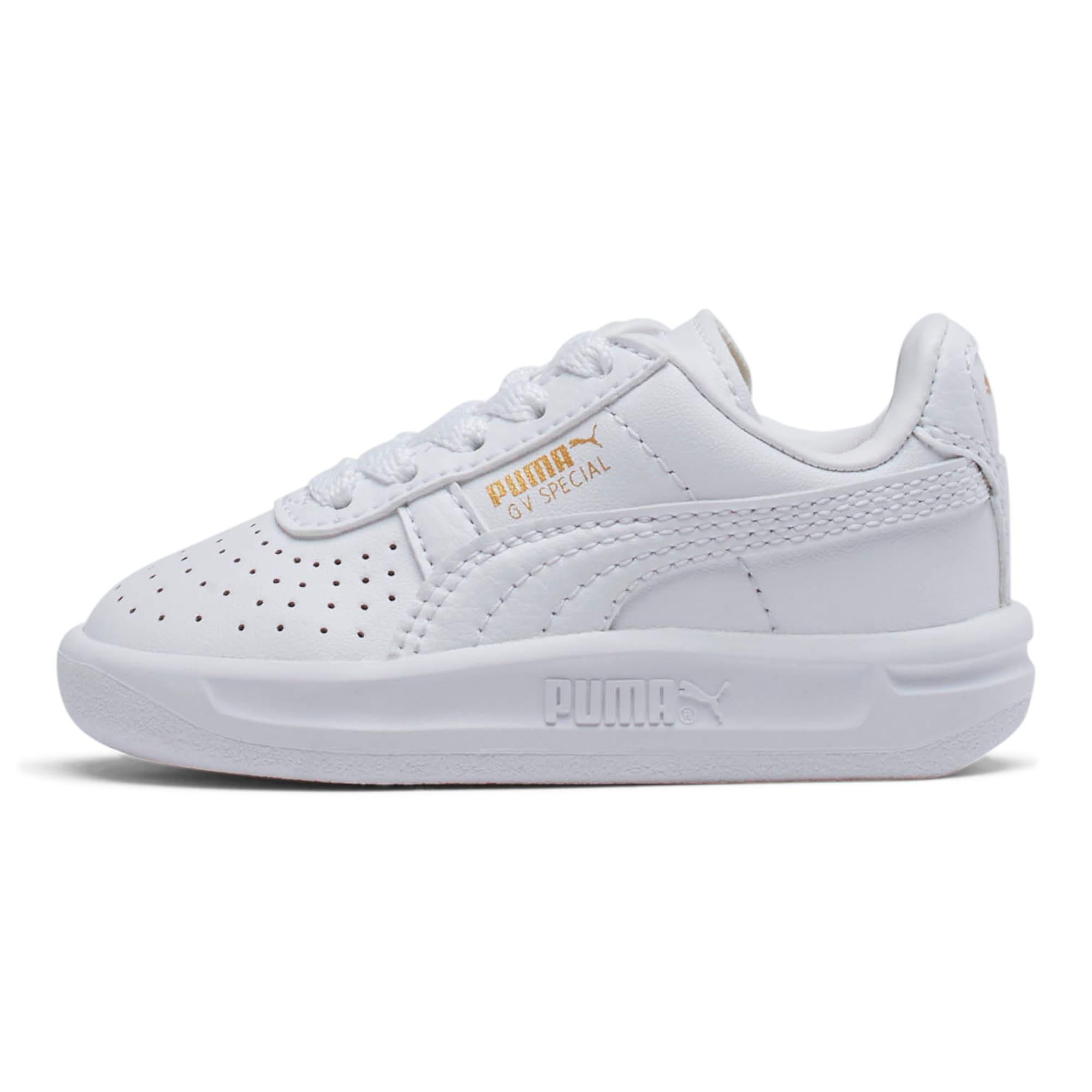 Thumbnail 1 of GV Special Toddler Shoes, Puma White-Puma Team Gold, medium