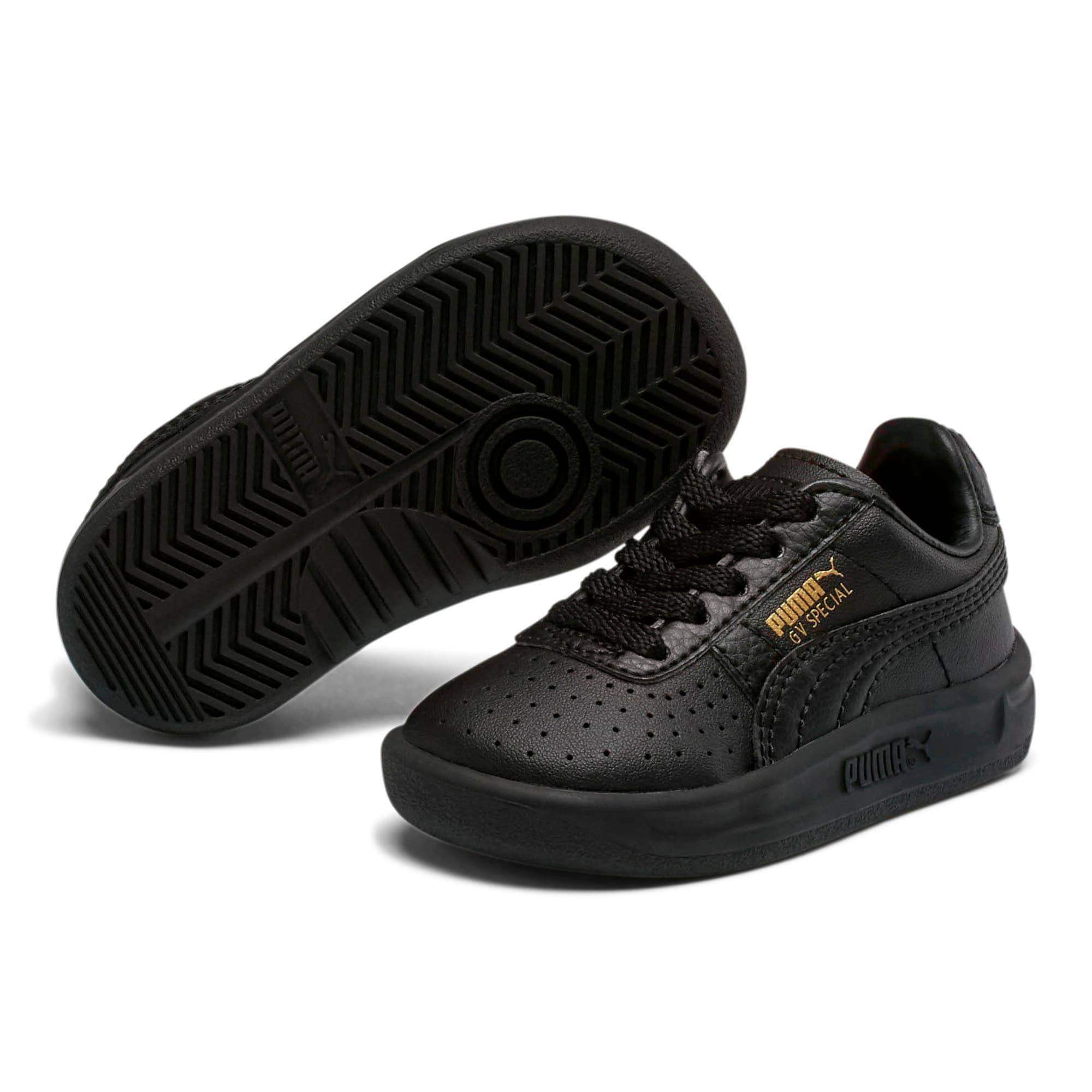 Thumbnail 2 of GV Special Toddler Shoes, Puma Black-Puma Team Gold, medium