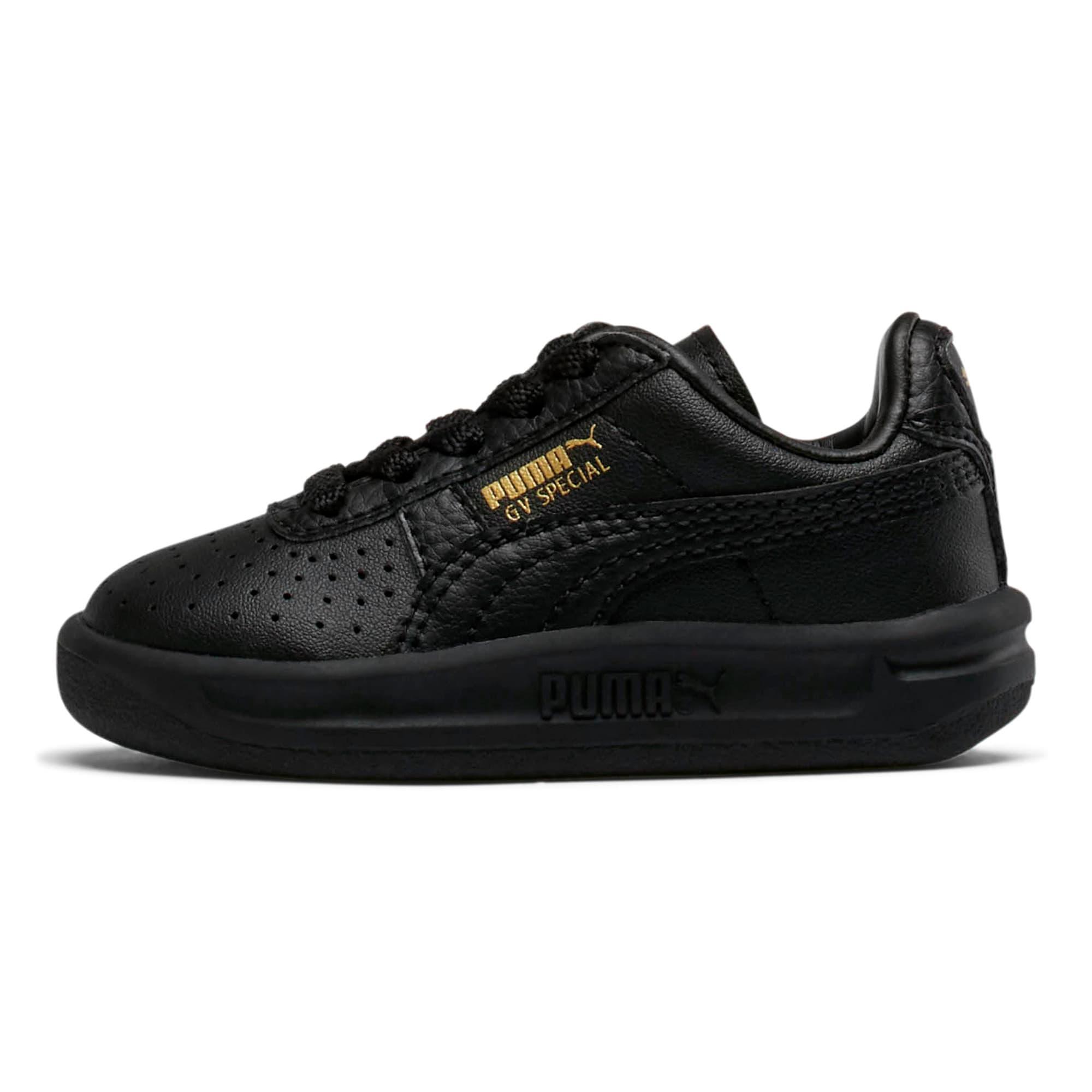 Thumbnail 1 of GV Special Toddler Shoes, Puma Black-Puma Team Gold, medium