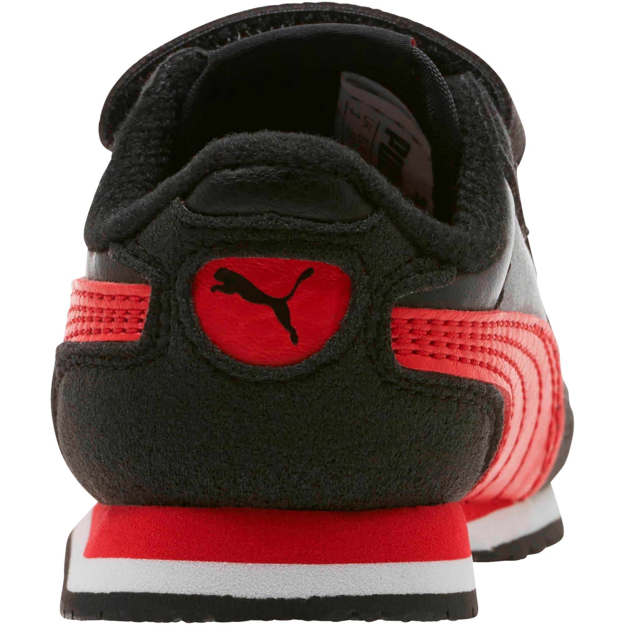 Thumbnail 3 of Cabana Racer SL Toddler Shoes, Puma Black-High Risk Red, medium