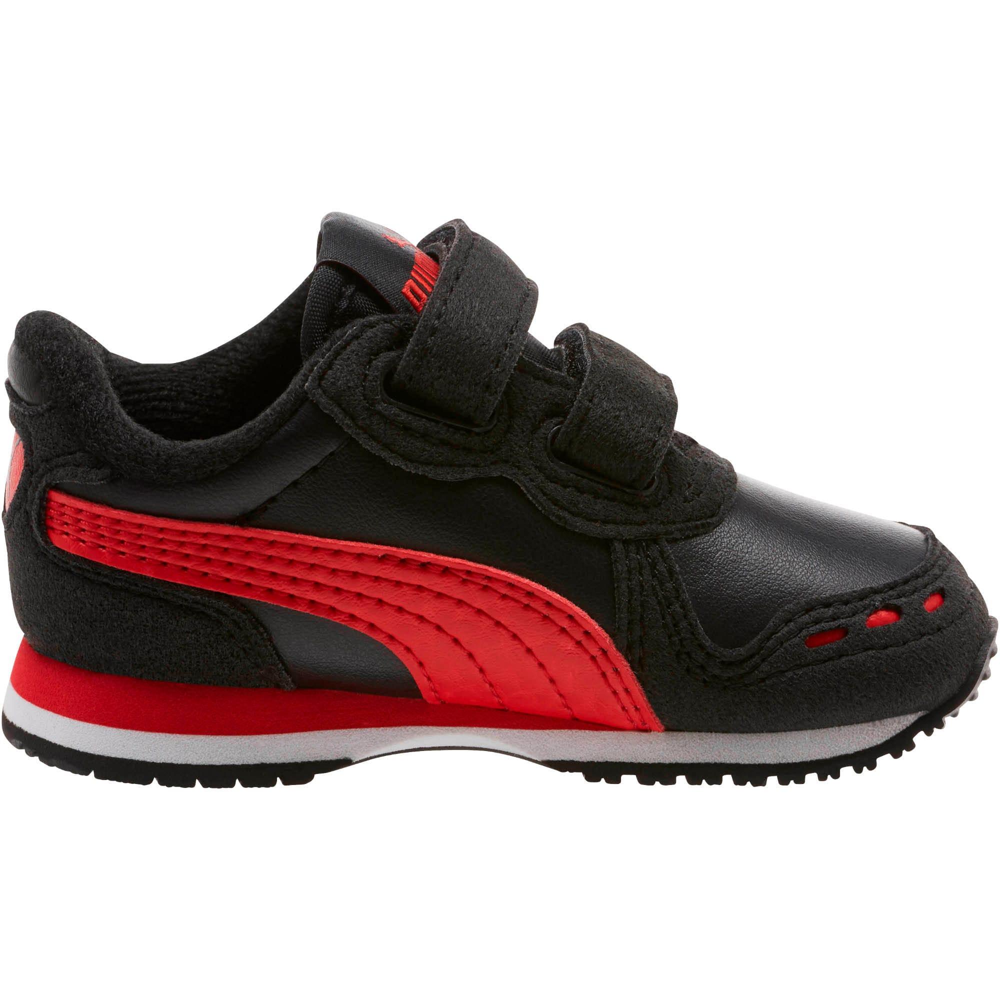 Thumbnail 4 of Cabana Racer SL Toddler Shoes, Puma Black-High Risk Red, medium