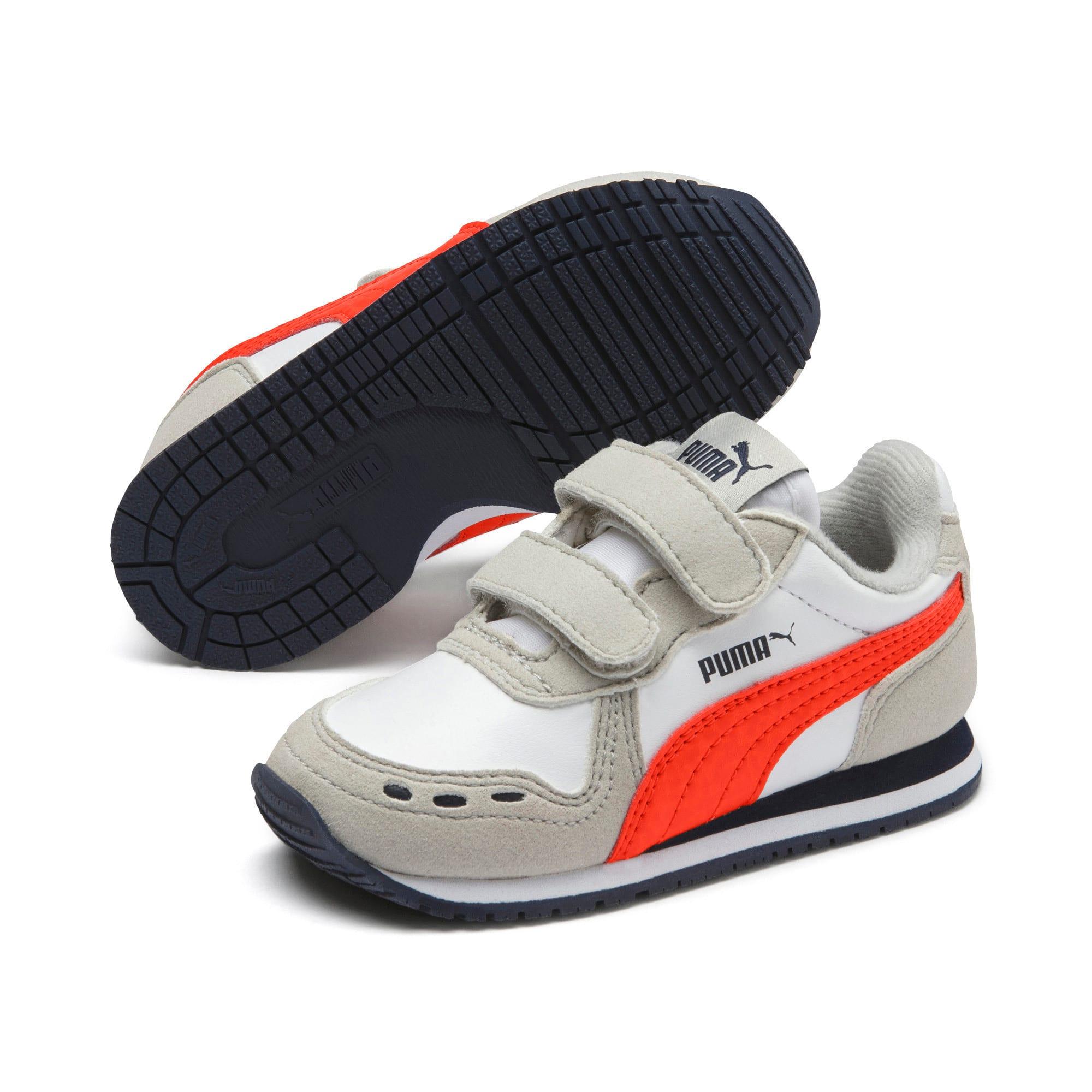 Miniaturka 2 Buty dziecięce Cabana Racer SL, Puma White-Gray Violet, średnie