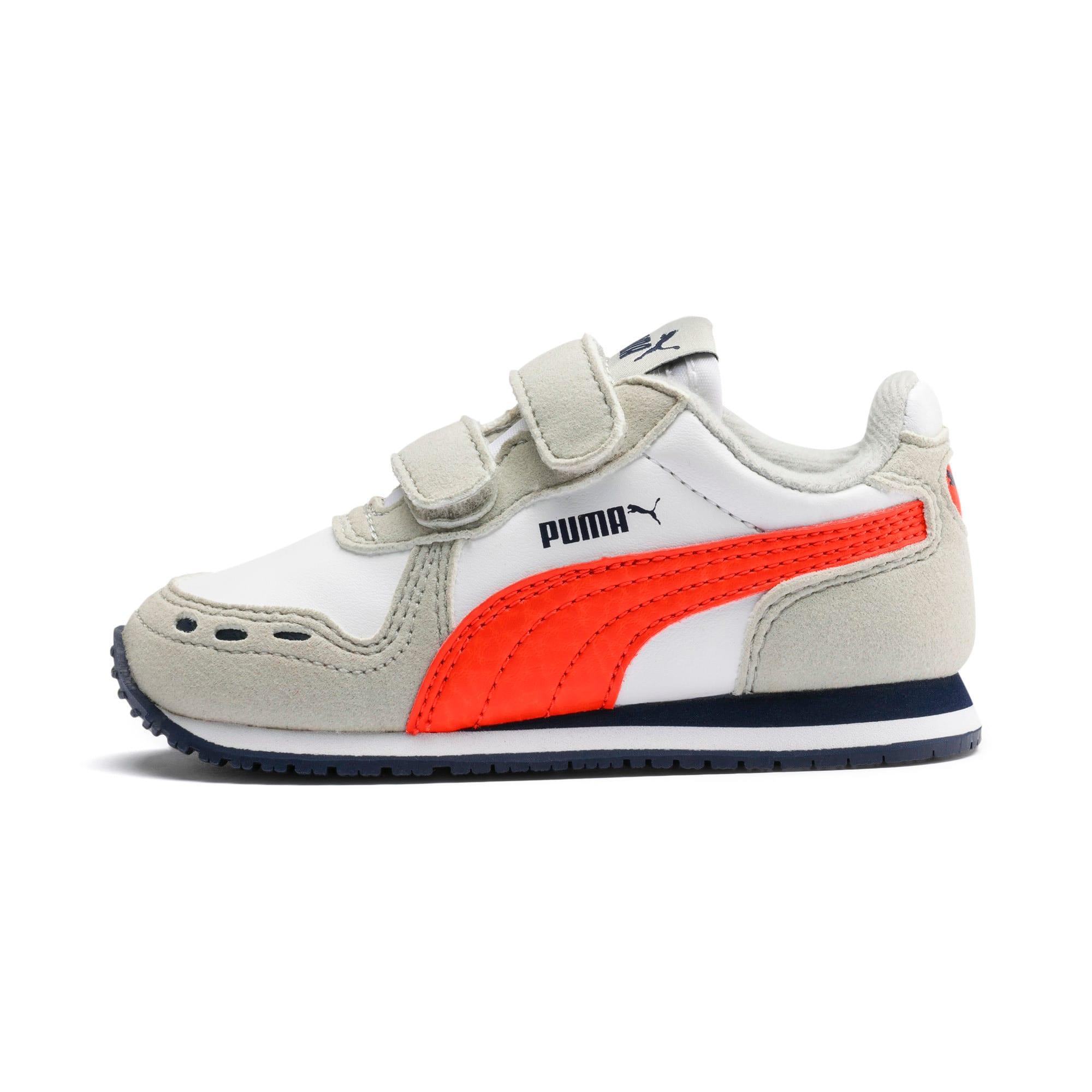 Miniaturka 1 Buty dziecięce Cabana Racer SL, Puma White-Gray Violet, średnie
