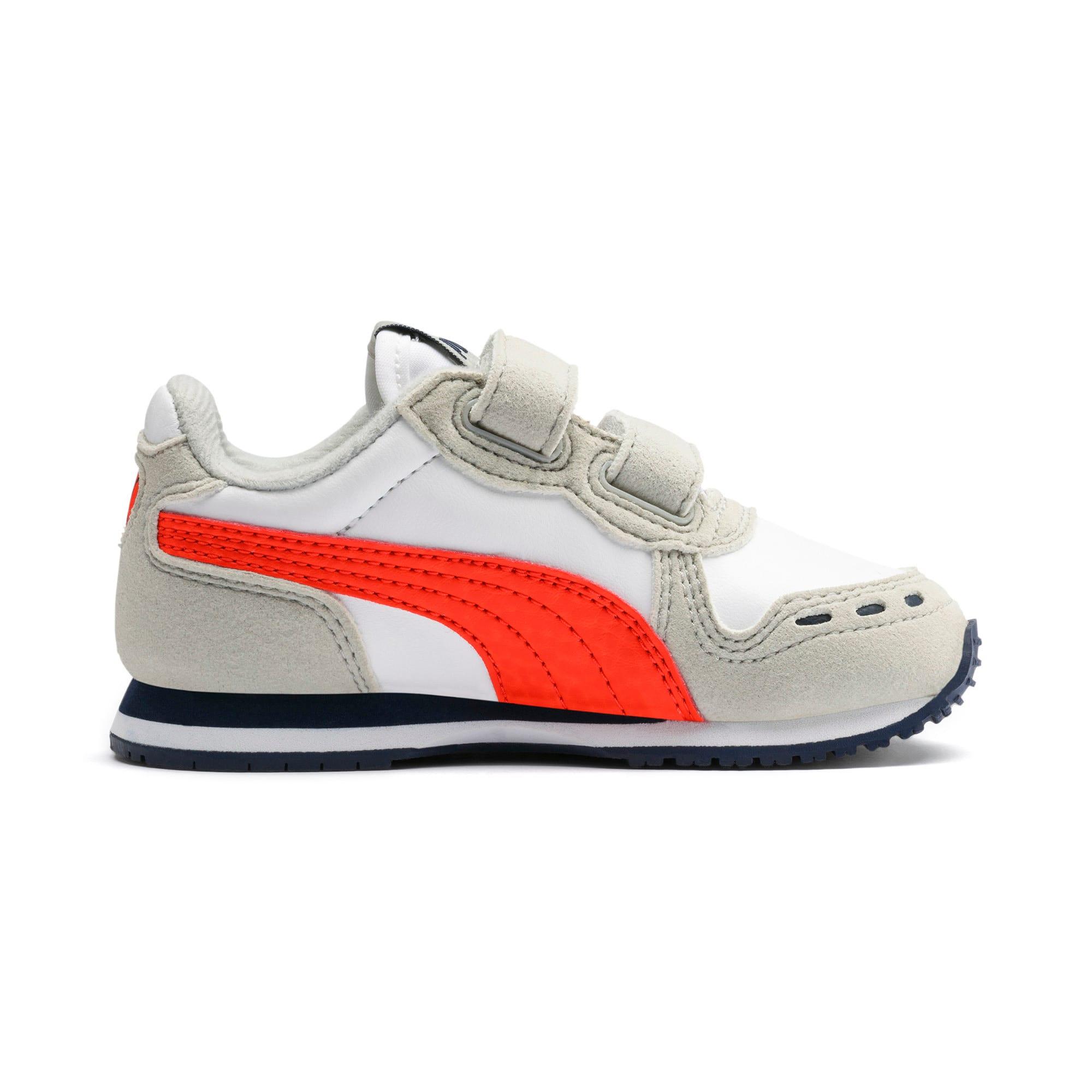Miniaturka 5 Buty dziecięce Cabana Racer SL, Puma White-Gray Violet, średnie