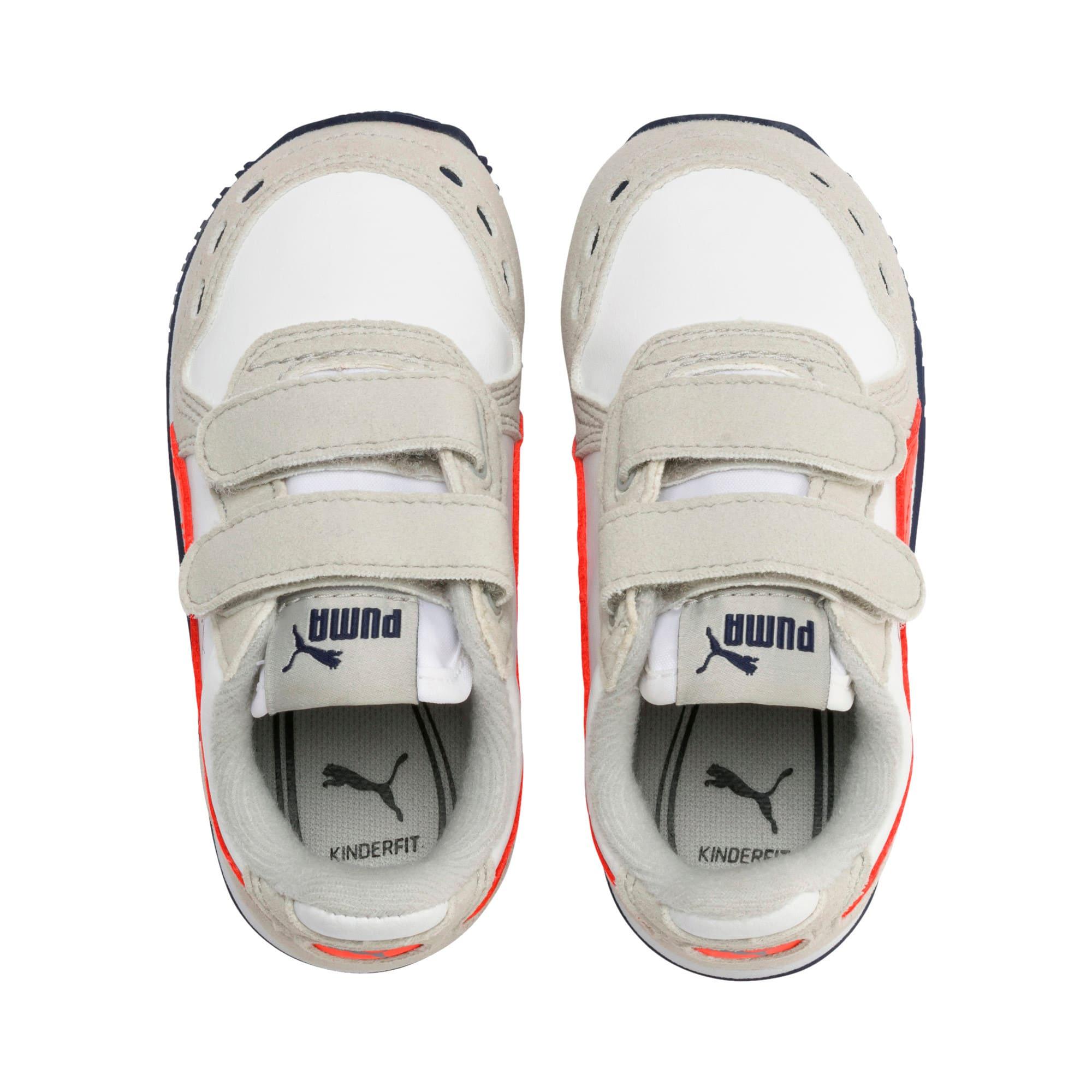 Miniaturka 6 Buty dziecięce Cabana Racer SL, Puma White-Gray Violet, średnie