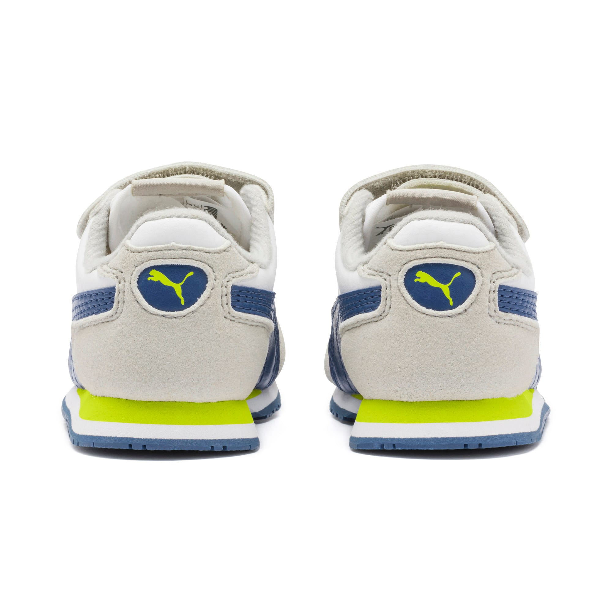 Thumbnail 3 of Cabana Racer SL Toddler Shoes, Puma White-Galaxy Blue, medium
