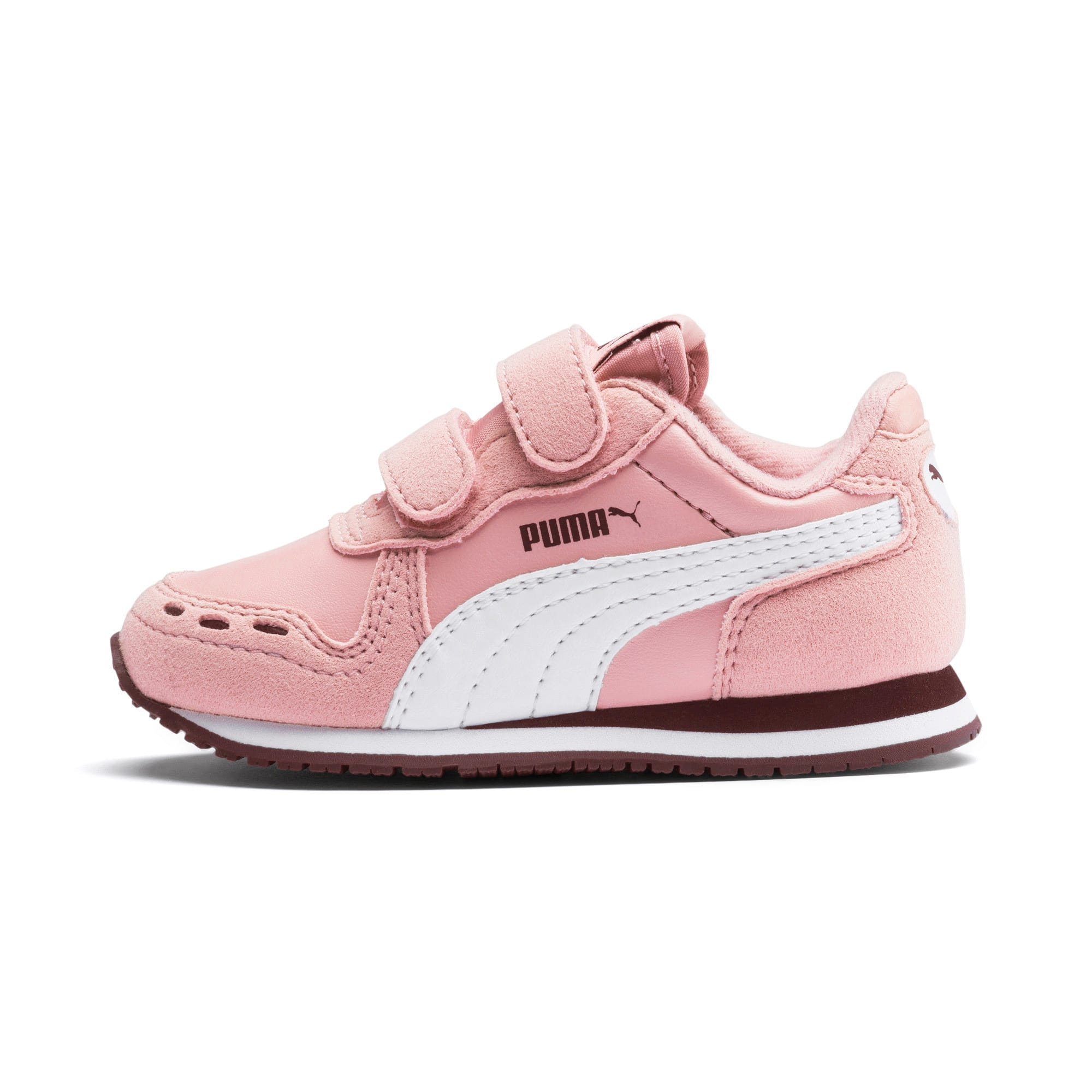 Thumbnail 1 of Cabana Racer SL Baby Trainers, Bridal Rose-Puma White, medium