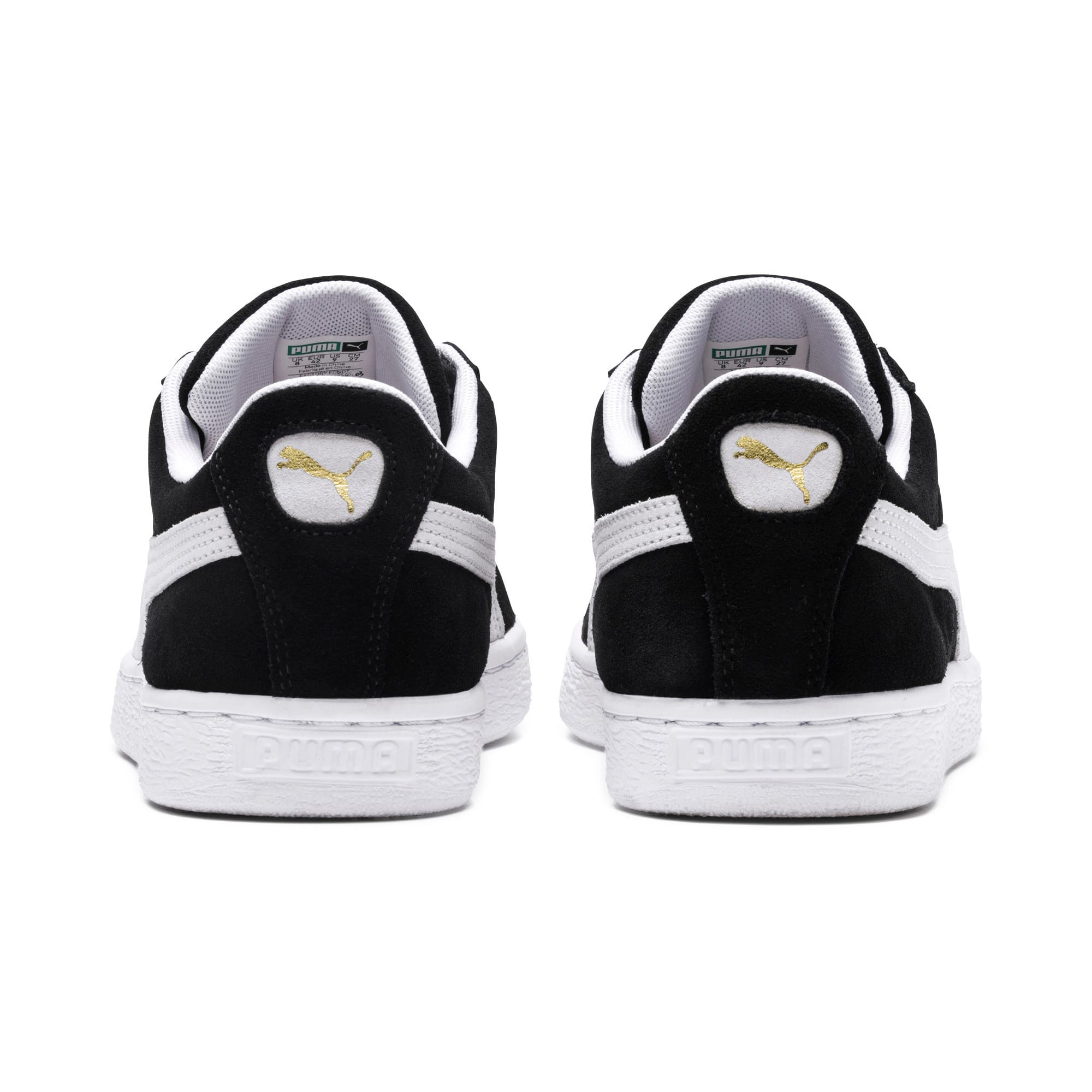Thumbnail 3 of Suede Classic+ Sneakers, black-white, medium