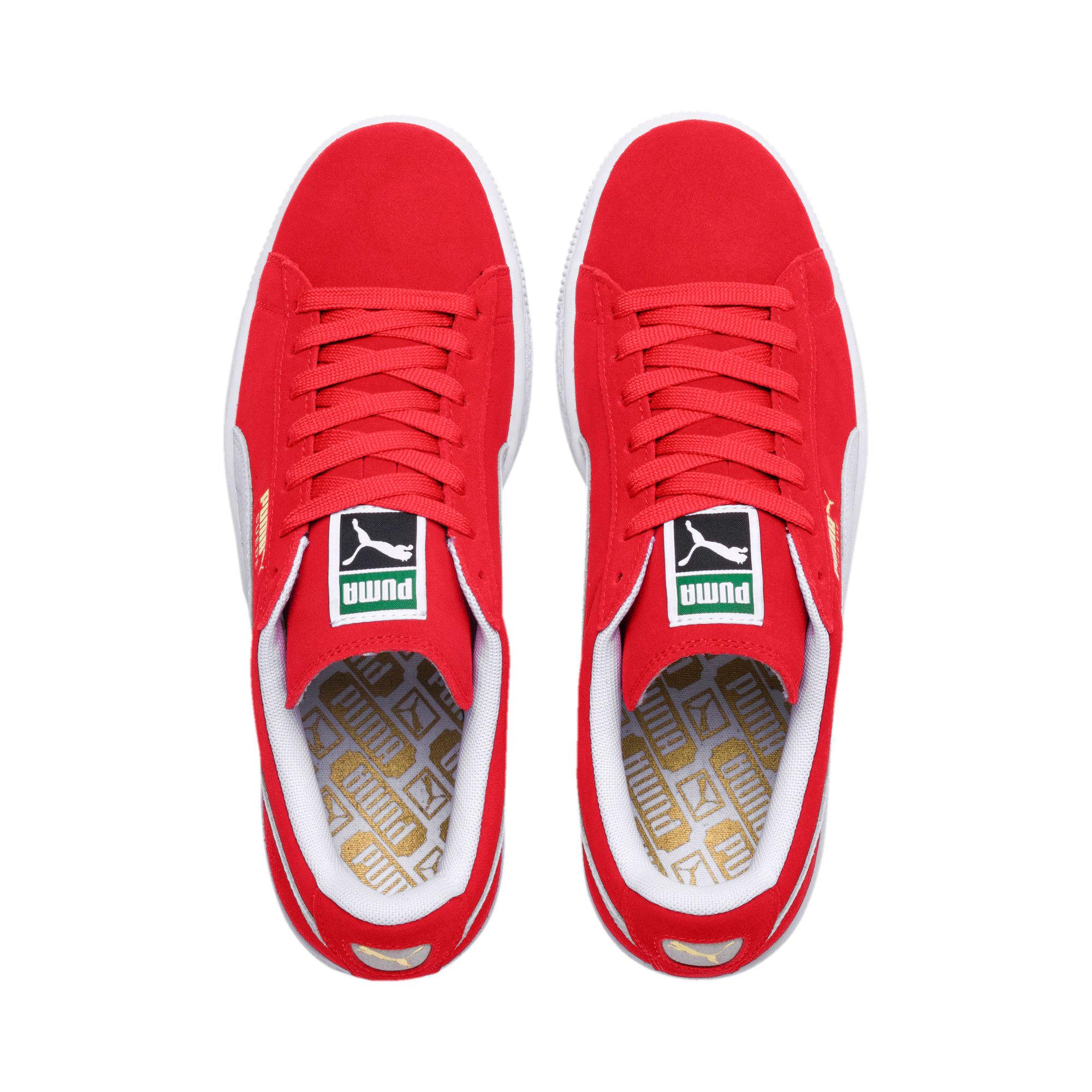 Miniatura 6 de Zapatos deportivos clásicos de gamuza, team regal red-white, mediano