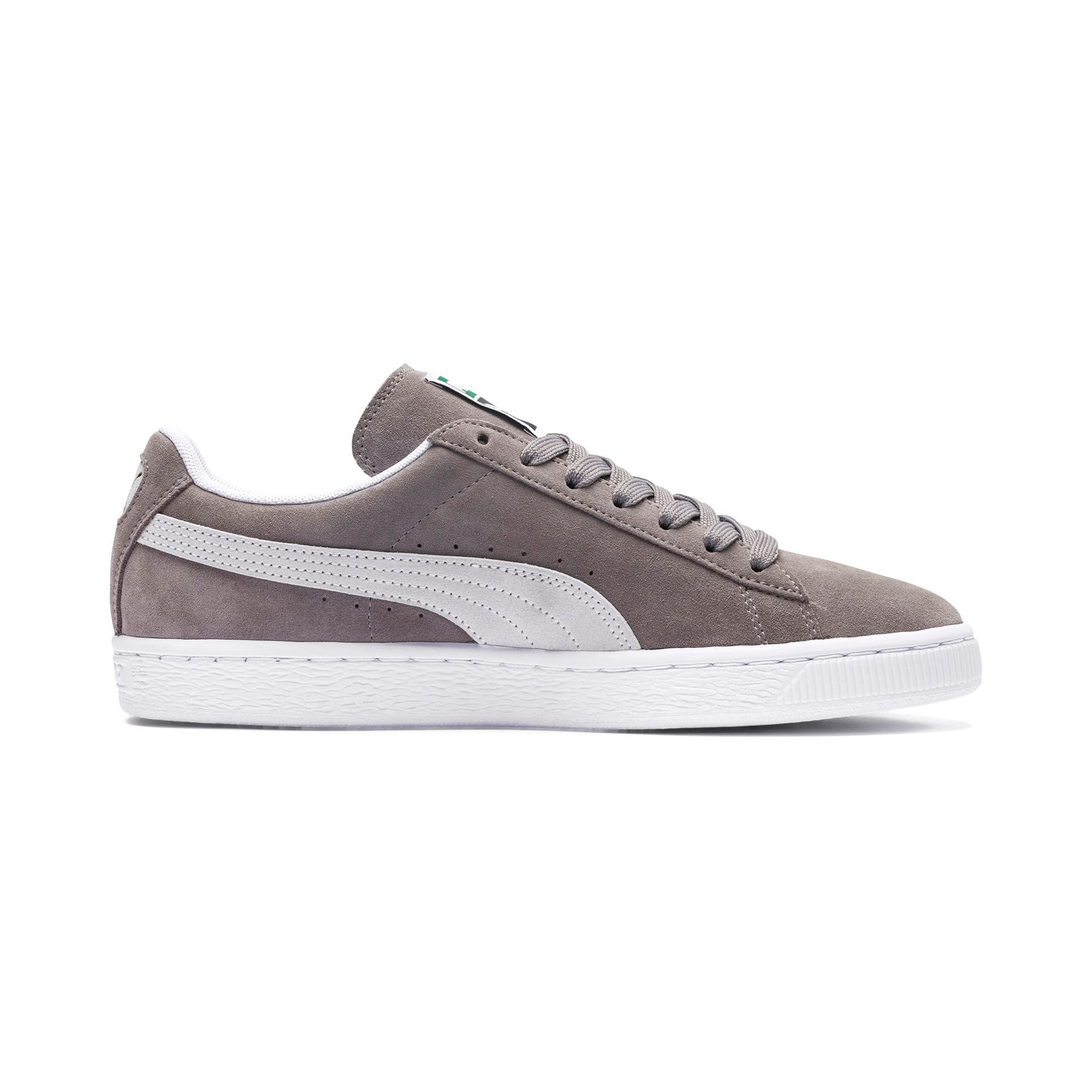 Thumbnail 5 of Suede Classic+ Sneakers, steeple gray-white, medium