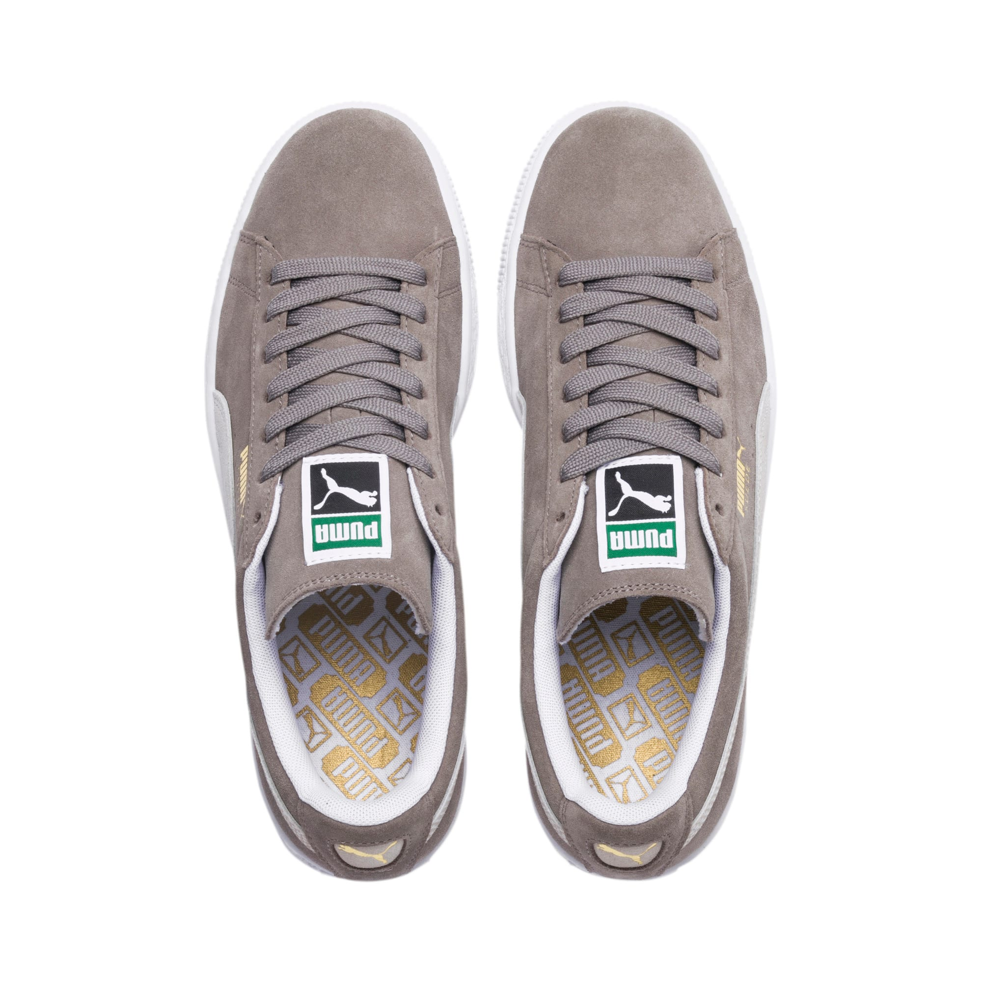 Thumbnail 6 of Suede Classic+ Sneakers, steeple gray-white, medium