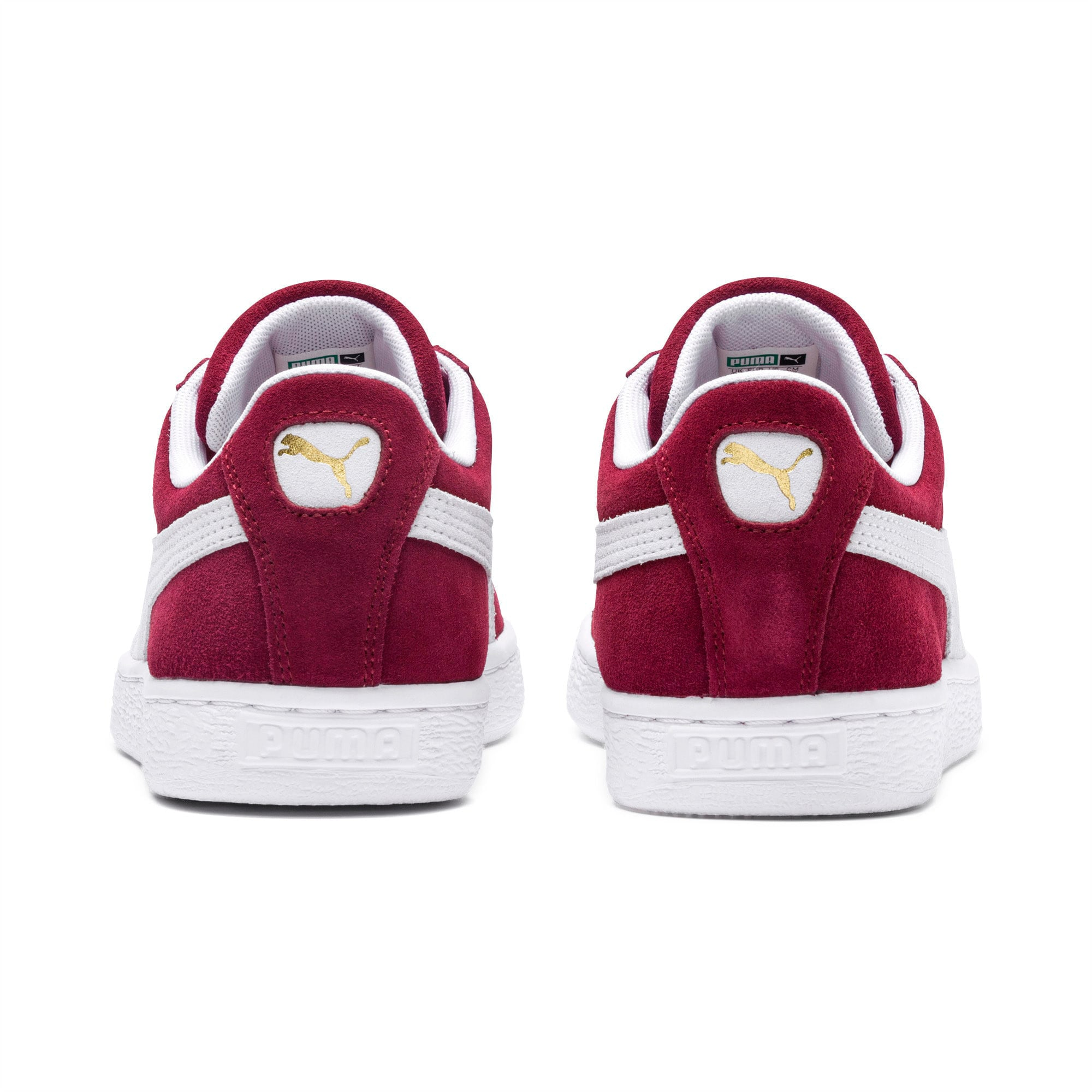 Thumbnail 3 of Suede Classic+ Sneakers, cabernet-white, medium