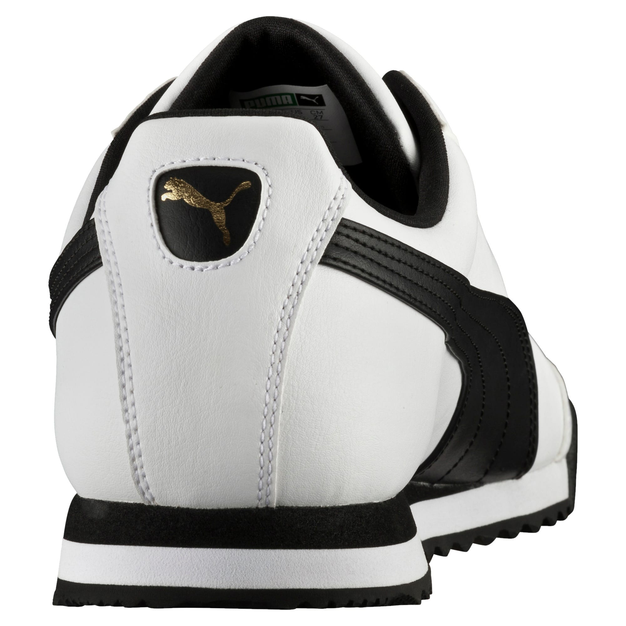 Thumbnail 3 of Roma Basic Trainers, white-black, medium