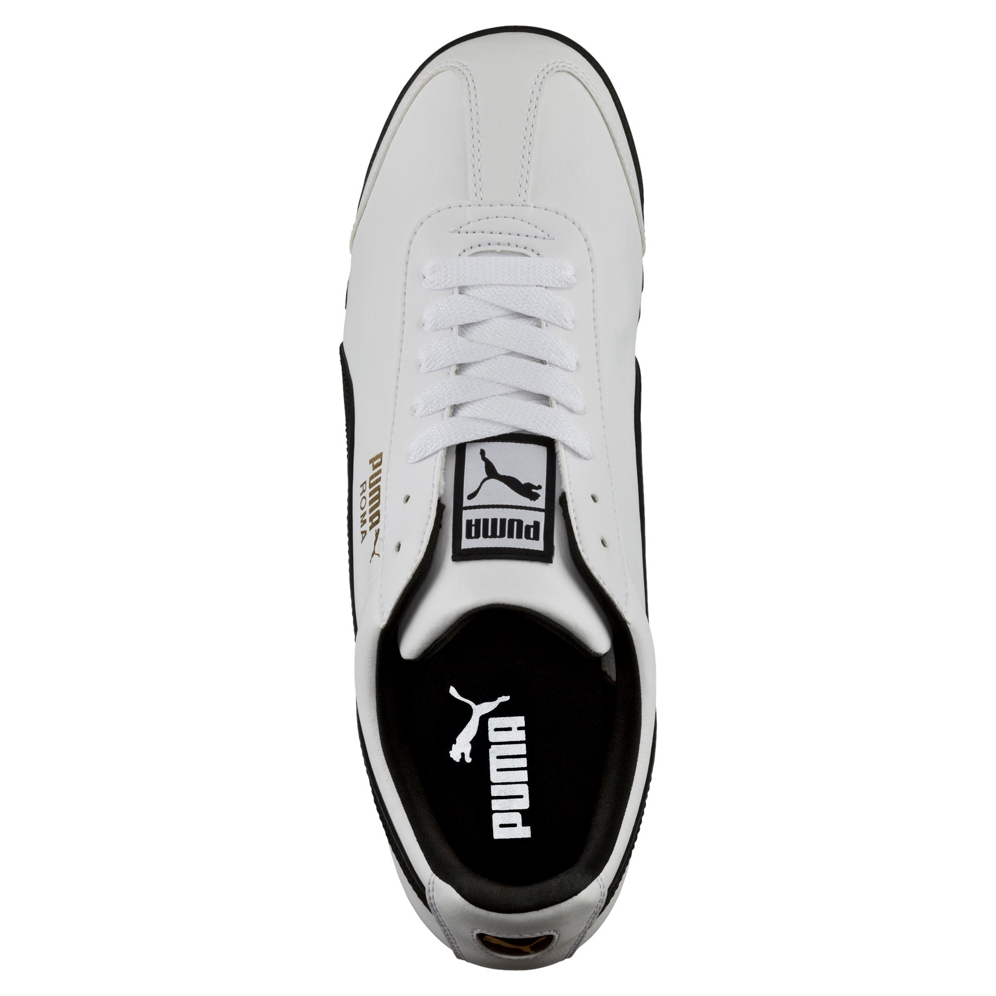 Thumbnail 5 of Roma Basic Trainers, white-black, medium