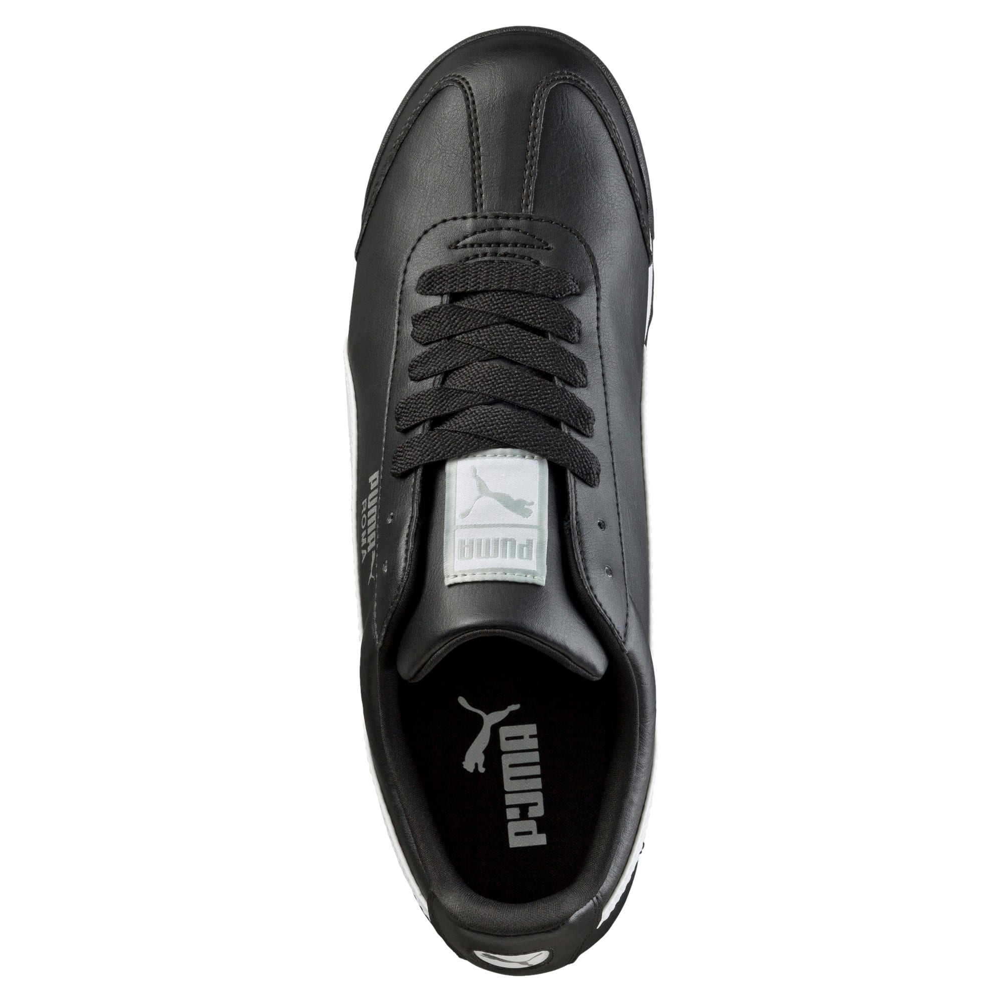 Thumbnail 5 of Roma Basic Men's Sneakers, black-white-puma silver, medium
