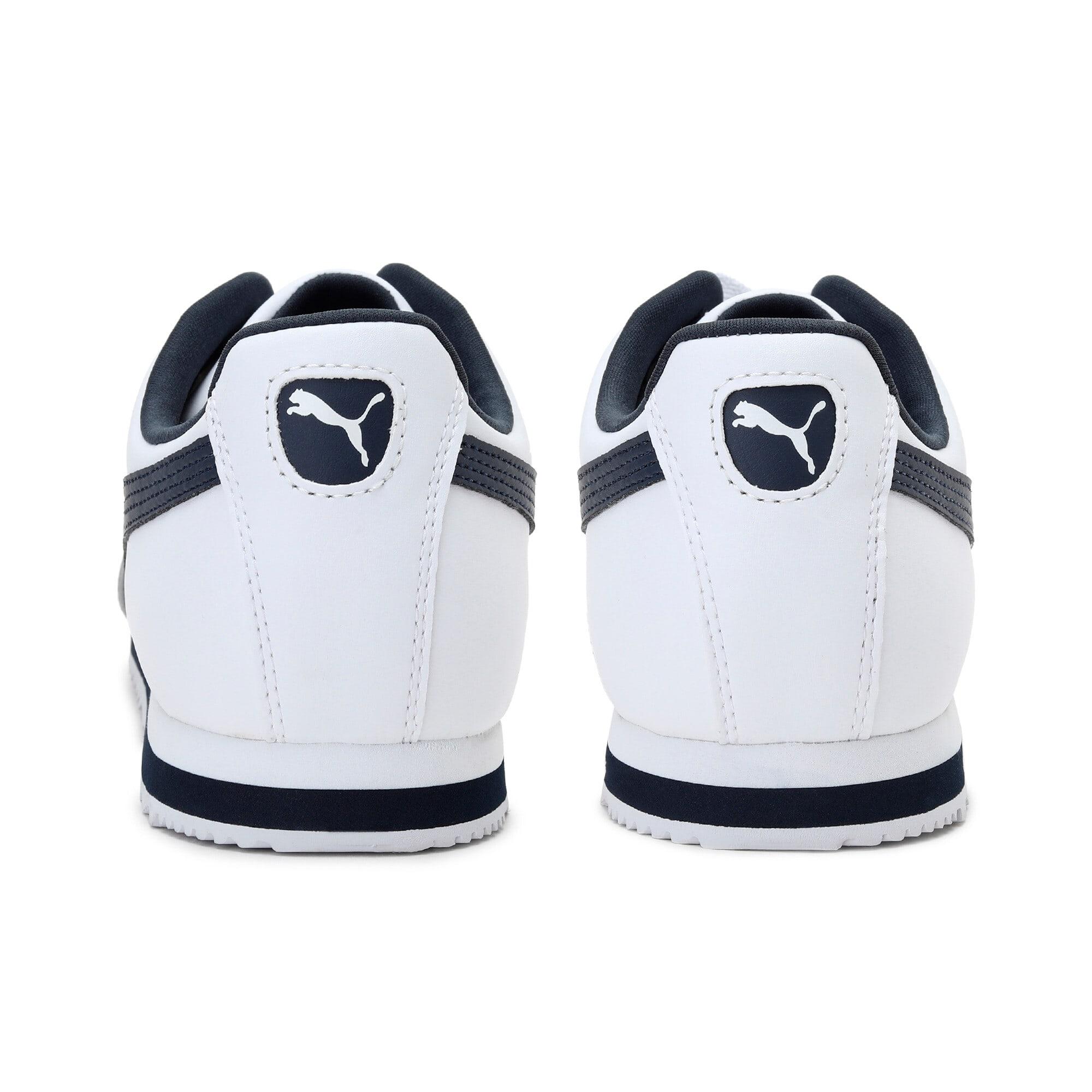 Miniatura 4 de Zapatos deportivos Roma Basic para hombre, white-new navy, mediano