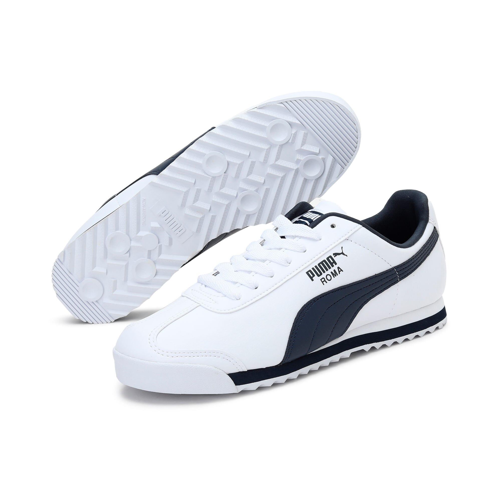 Miniatura 2 de Zapatos deportivos Roma Basic para hombre, white-new navy, mediano
