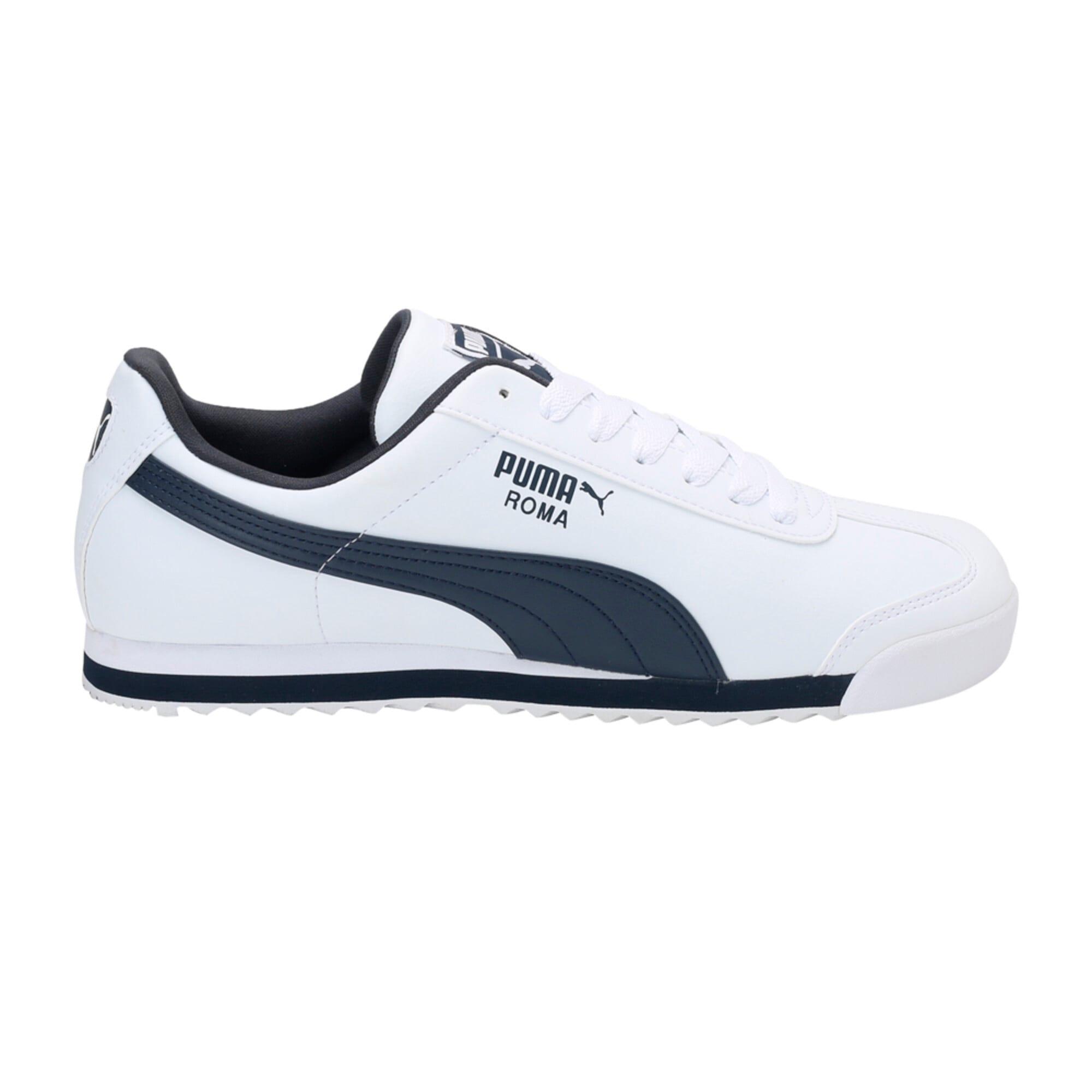 Miniatura 5 de Zapatos deportivos Roma Basic para hombre, white-new navy, mediano