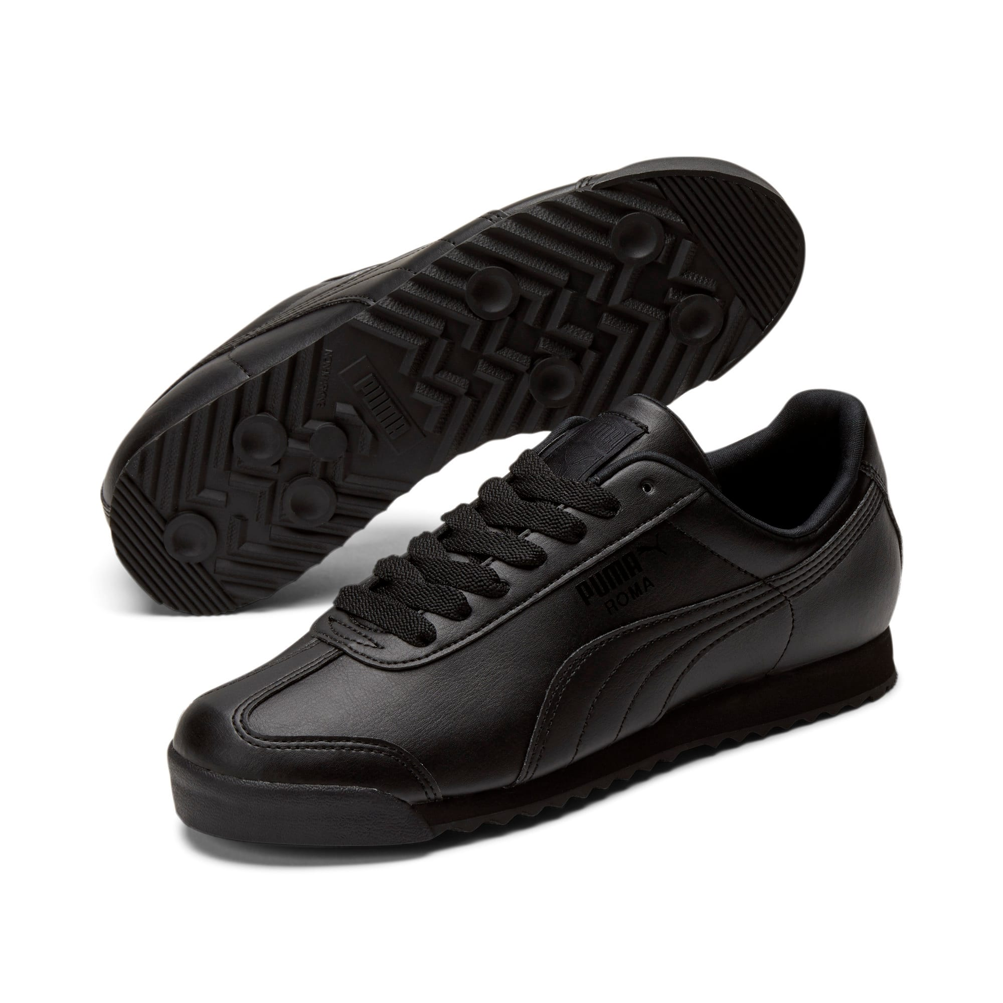 Thumbnail 2 of Roma Basic Men's Sneakers, black-black, medium