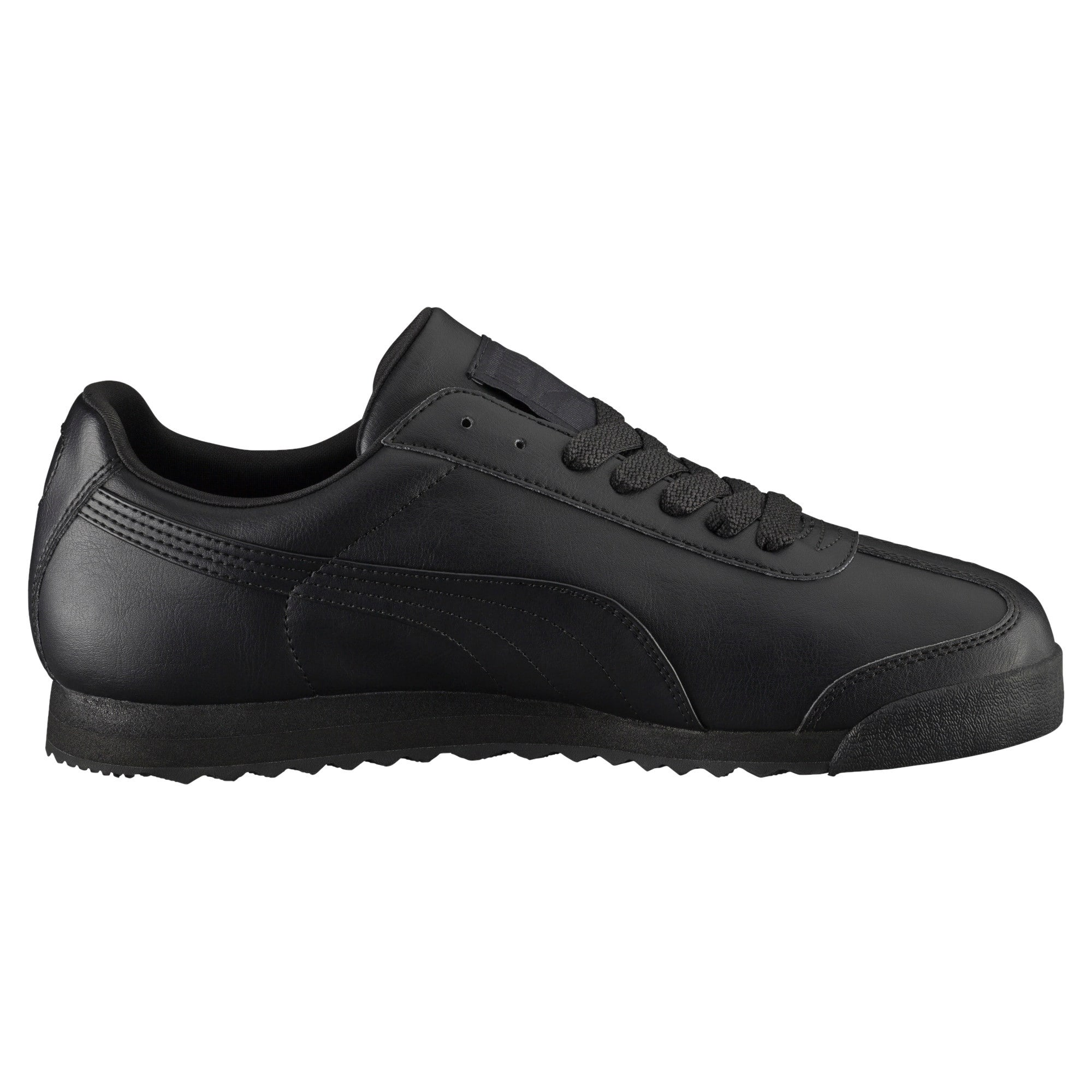 Thumbnail 4 of Roma Basic Men's Sneakers, black-black, medium