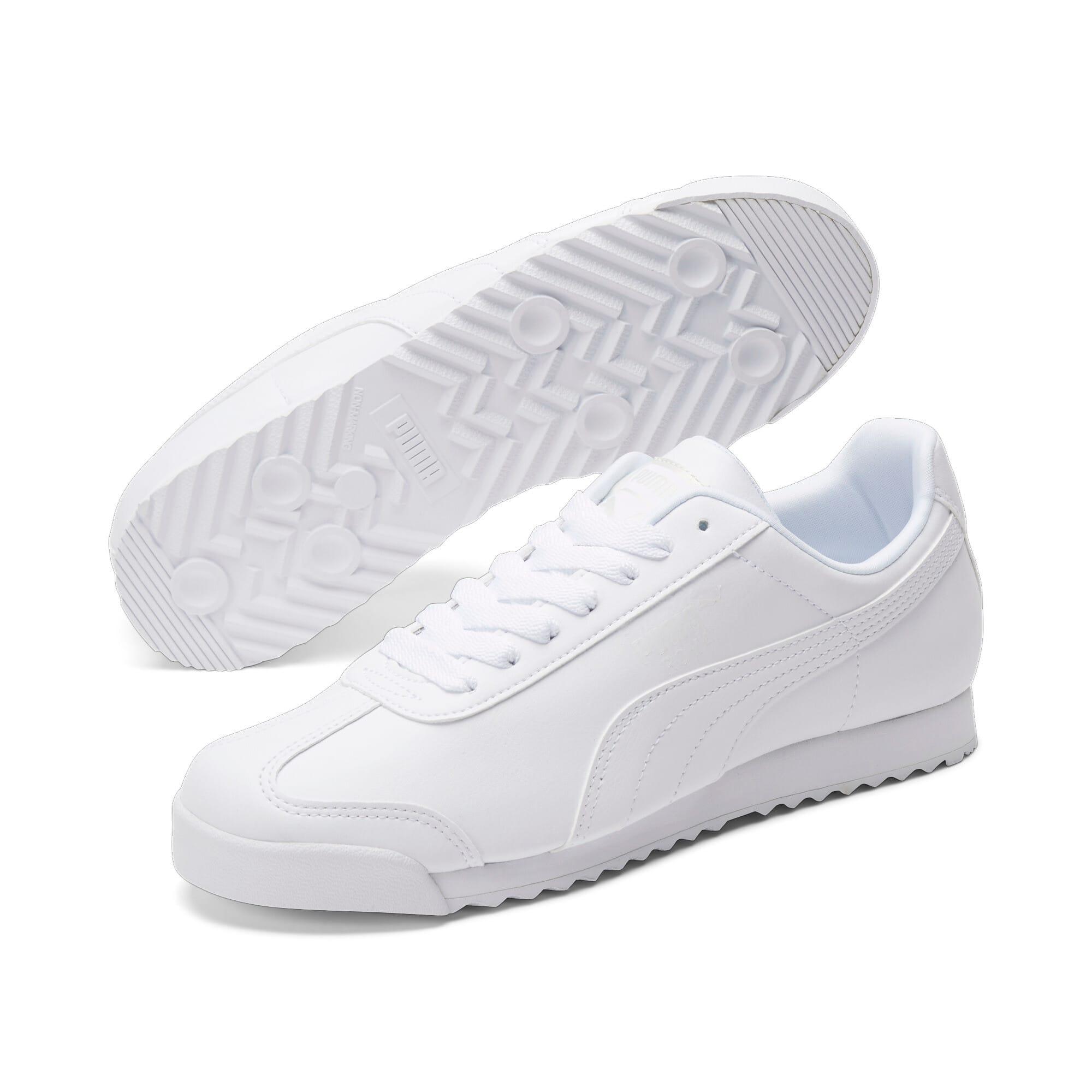 Thumbnail 2 of Roma Basic Men's Sneakers, white-light gray, medium