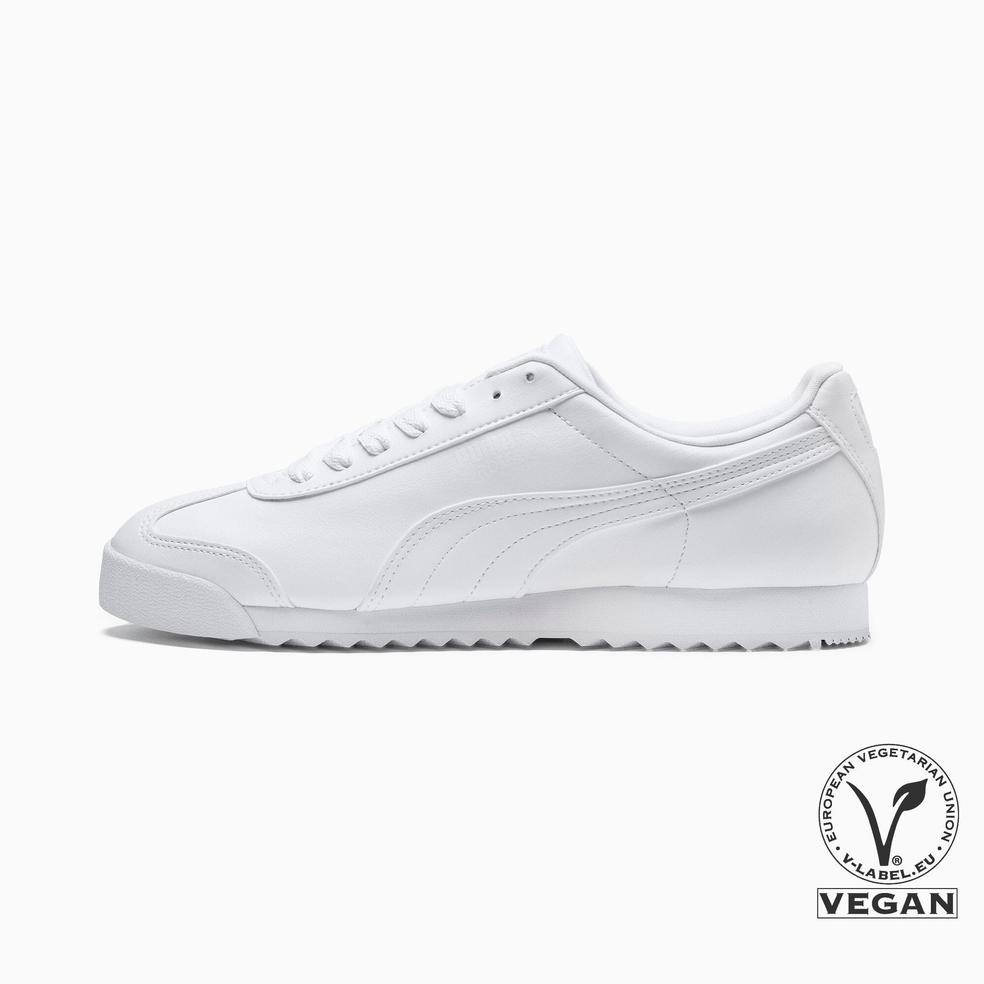 Thumbnail 1 of Roma Basic Men's Sneakers, white-light gray, medium
