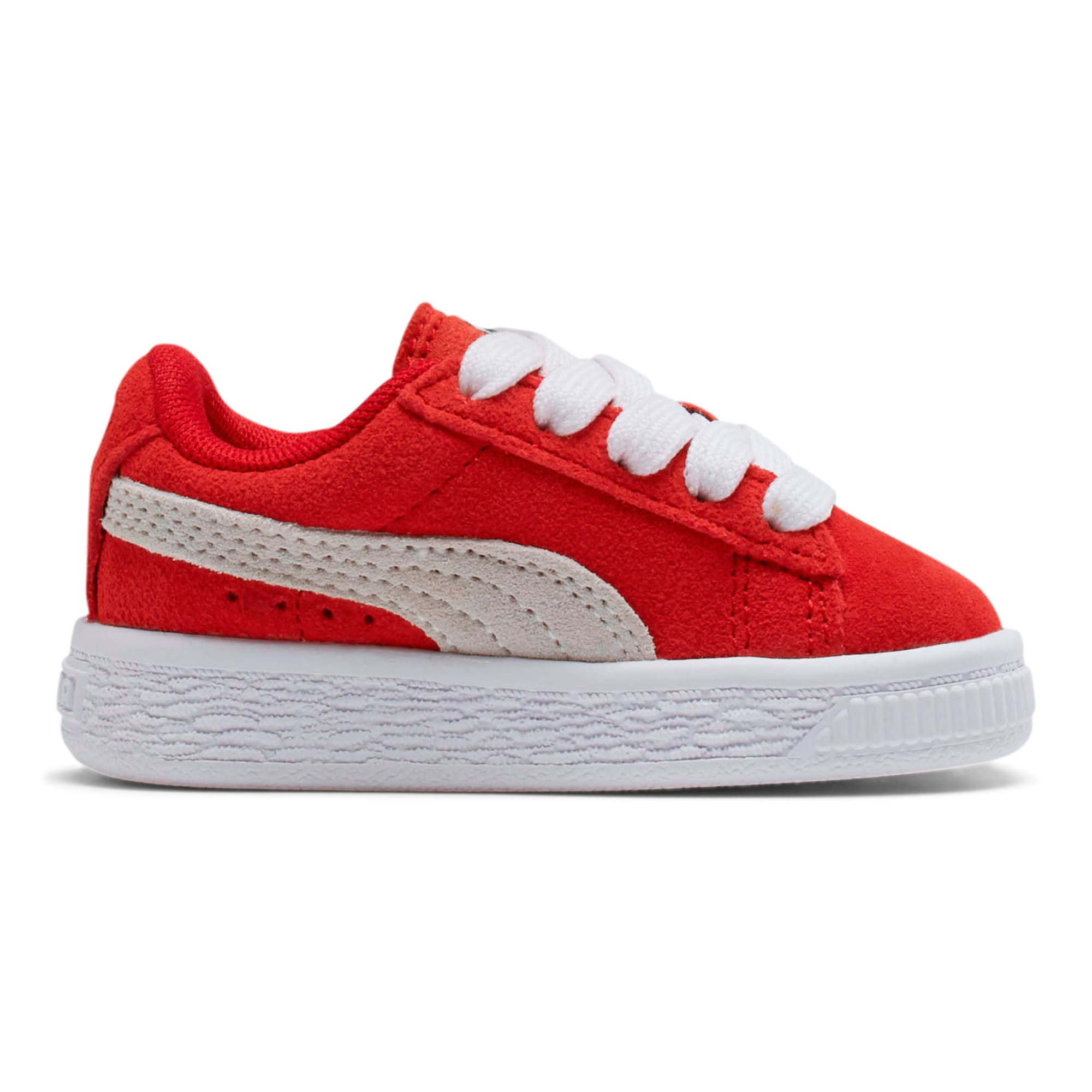 Miniatura 5 de Zapatos Puma Suede para bebés, high risk red-white, mediano