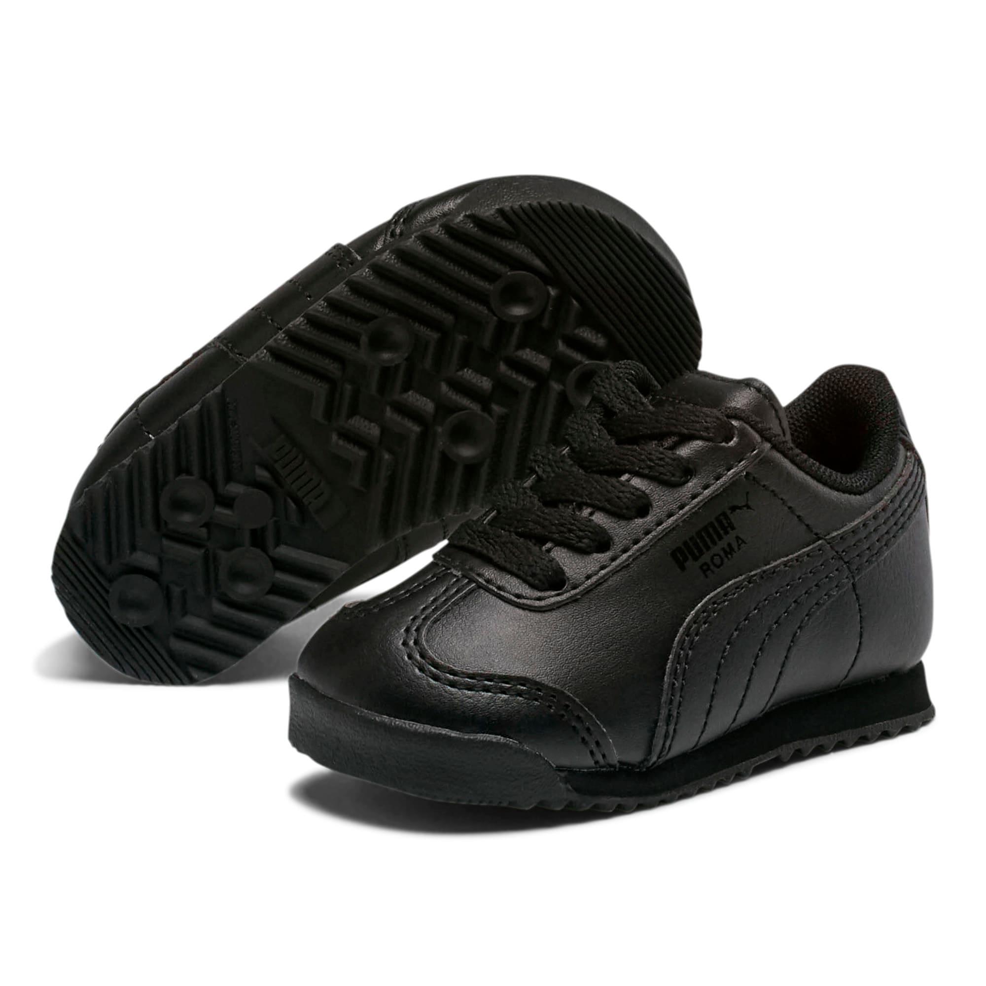 Thumbnail 2 of Roma Basic Toddler Shoes, black-black, medium