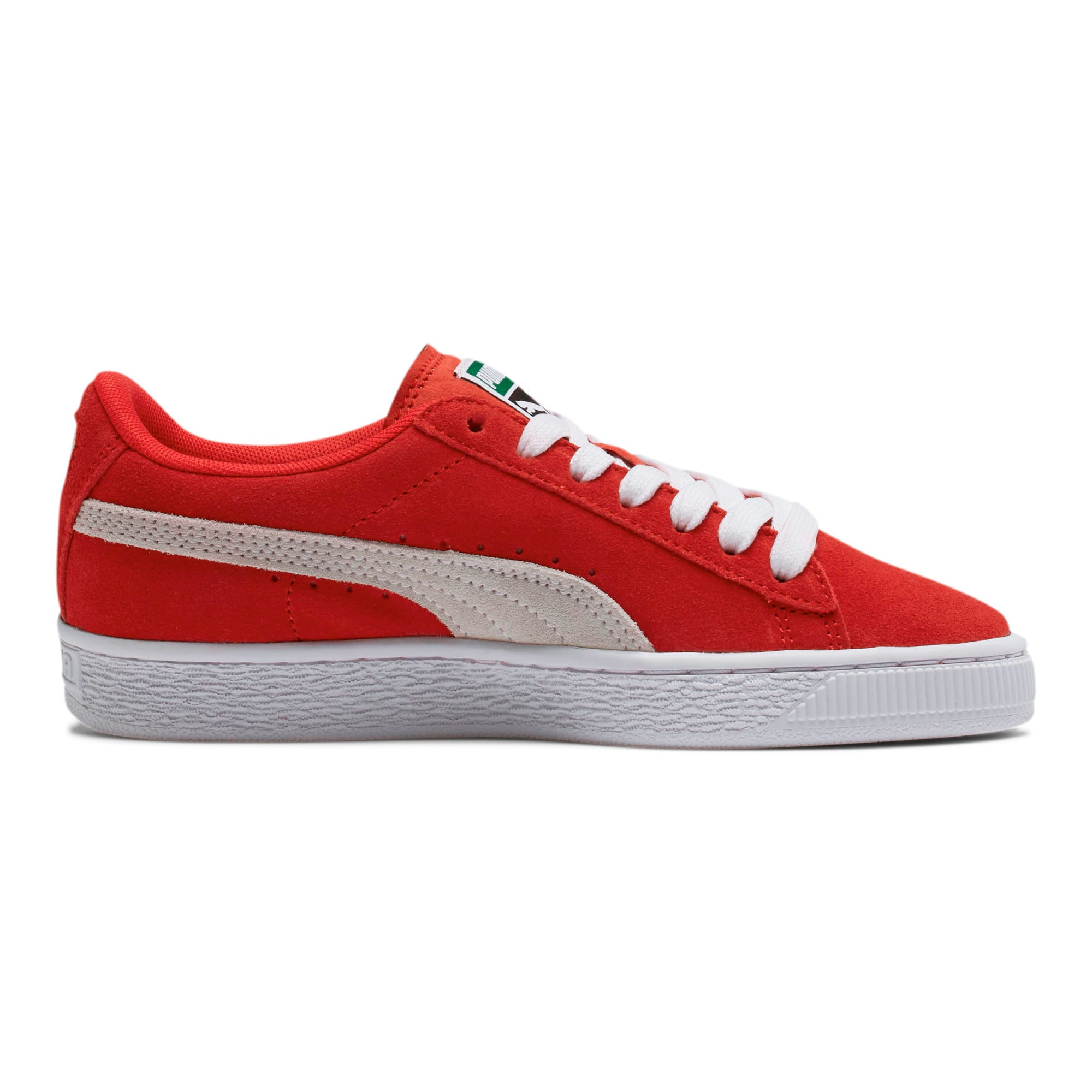 Thumbnail 5 of Suede Sneakers JR, high risk red-white, medium