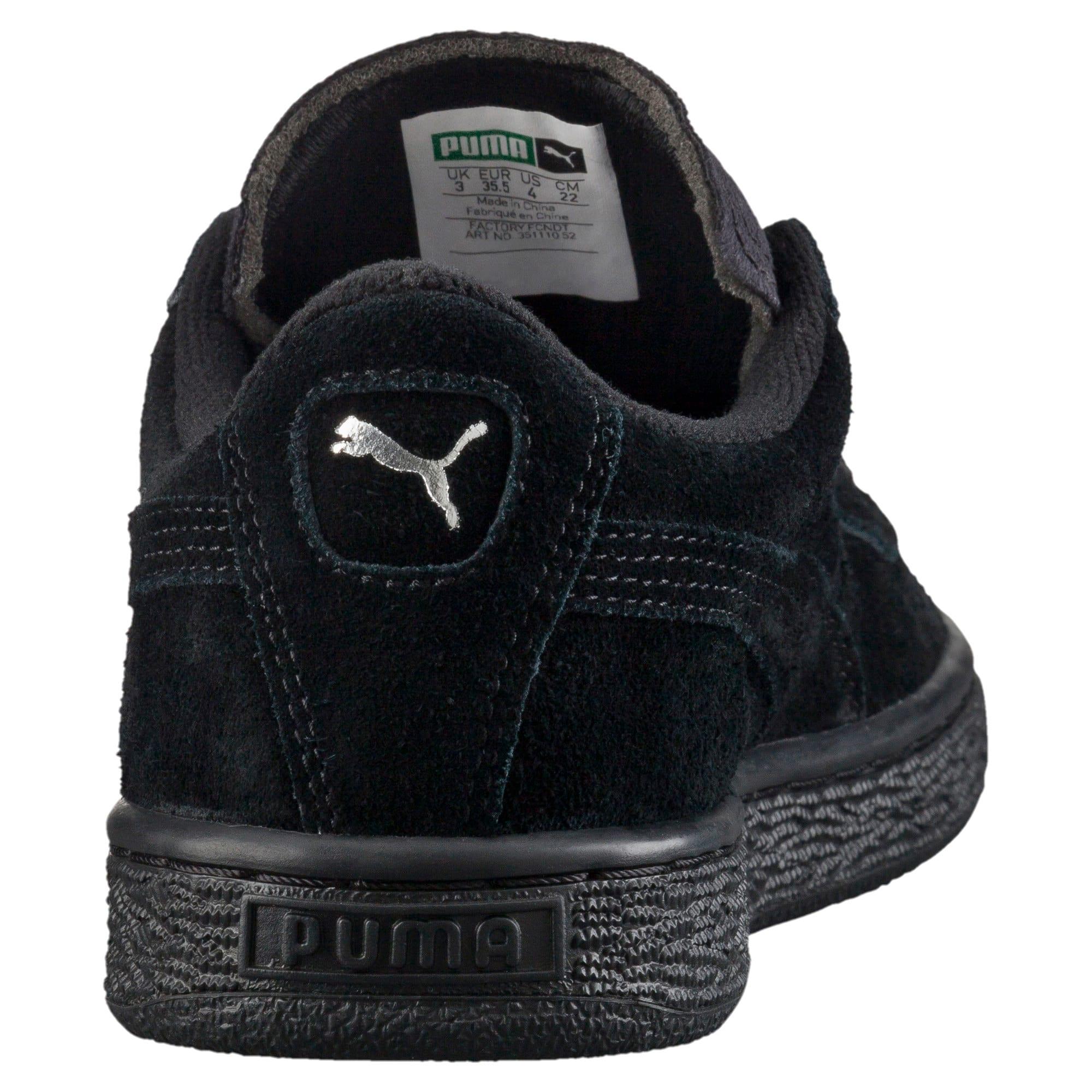 Miniatura 3 de Zapatos deportivos Suede para JR, black-puma silver, mediano