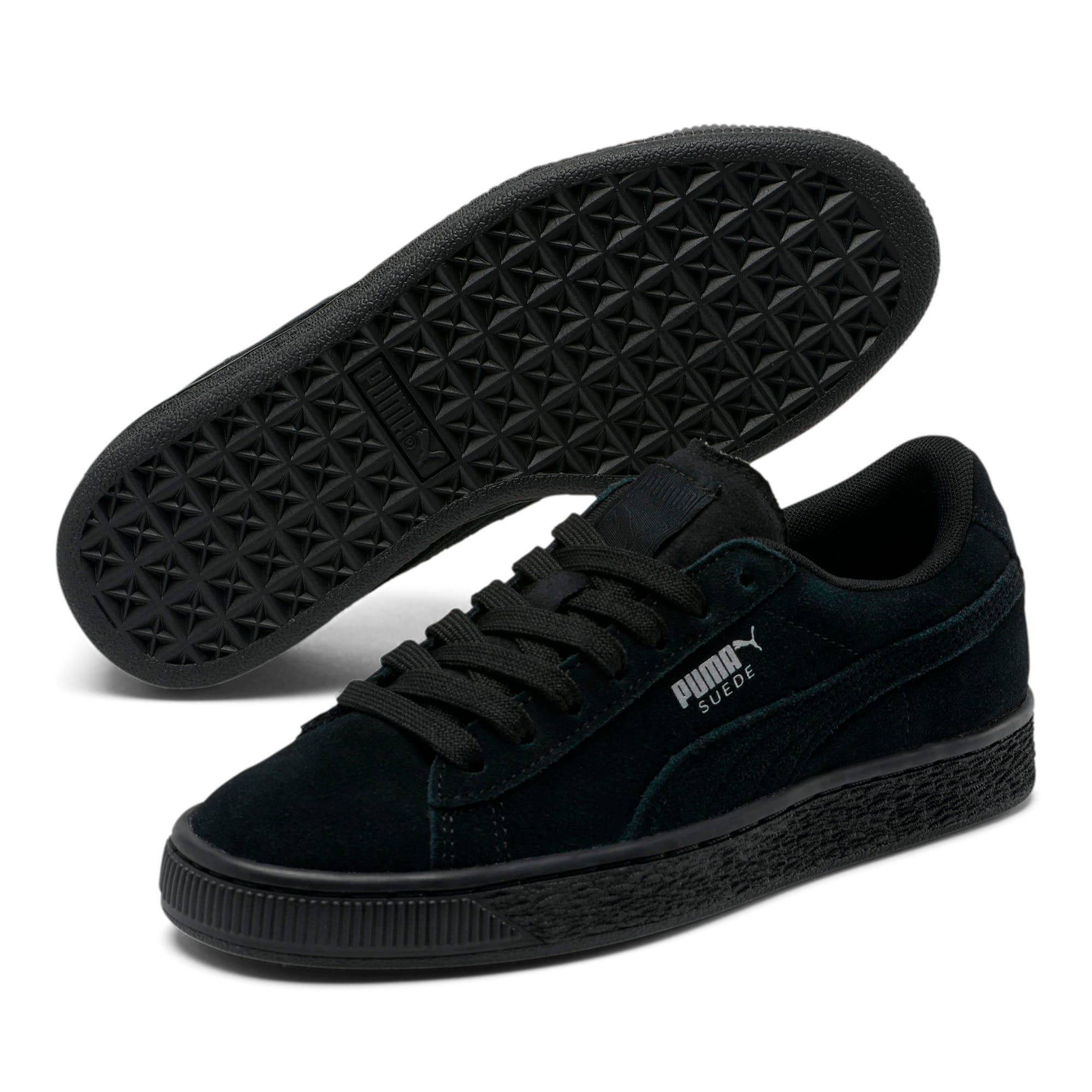 Miniatura 2 de Zapatos deportivos Suede para JR, black-puma silver, mediano