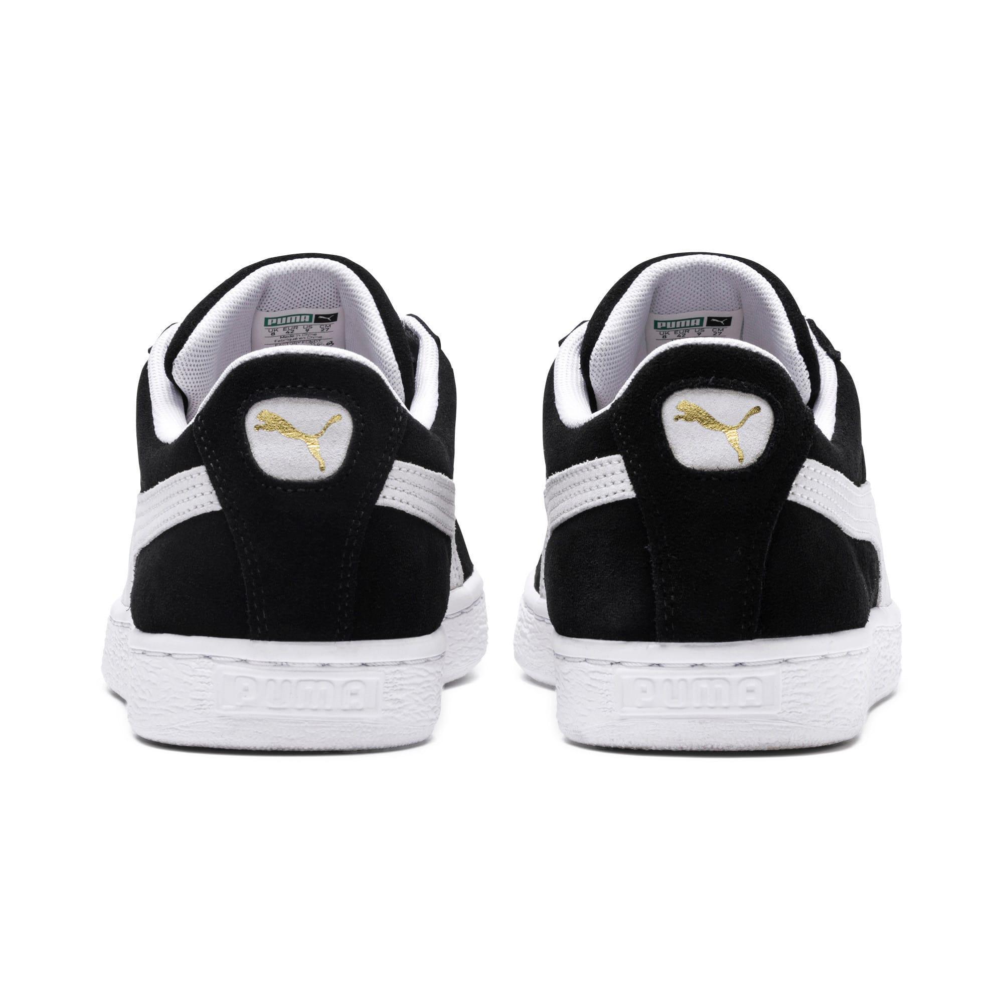 Thumbnail 3 of Suede Classic Women's Sneakers, black, medium