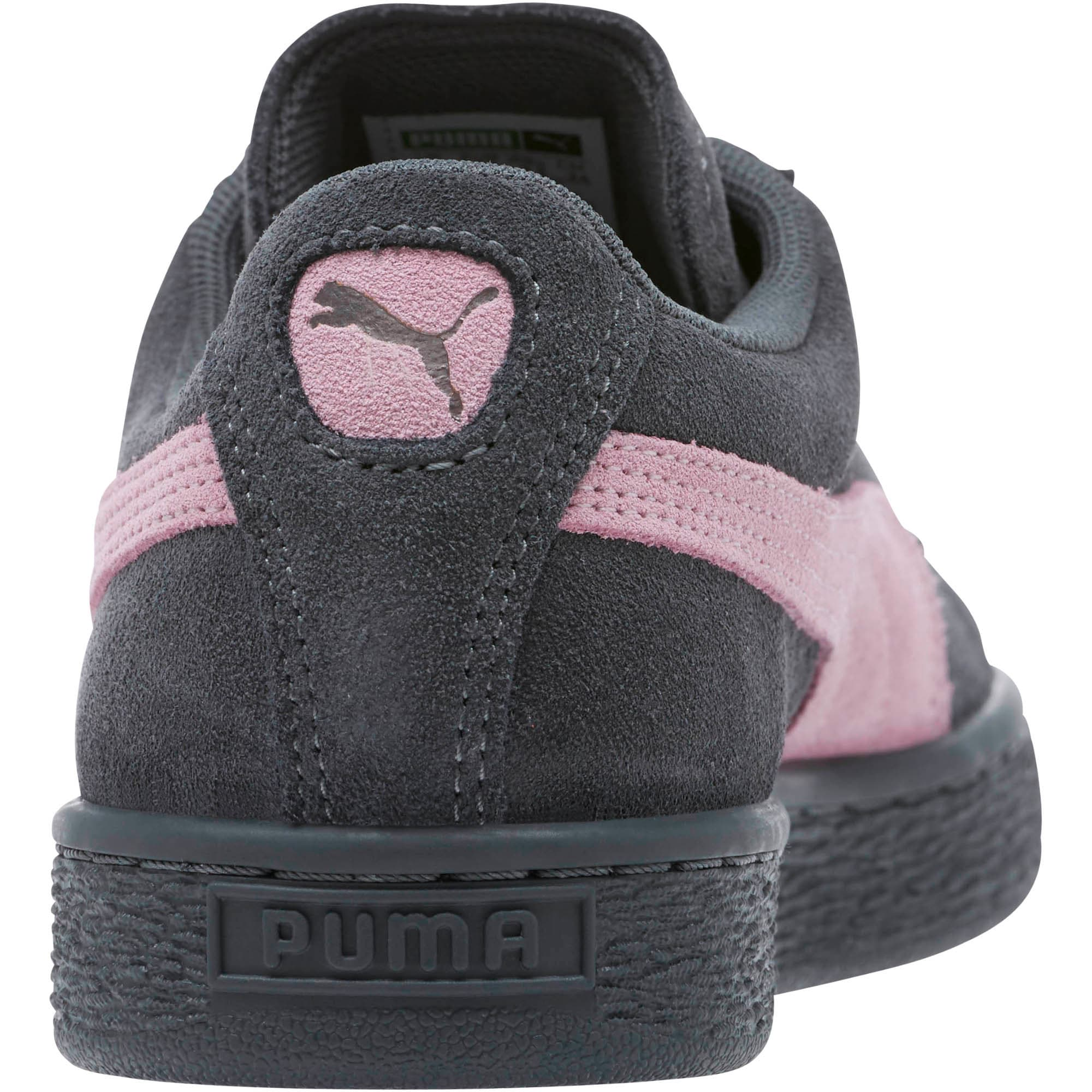 Thumbnail 4 of Suede Classic Women's Sneakers, Iron Gate-Winsome Orchid, medium
