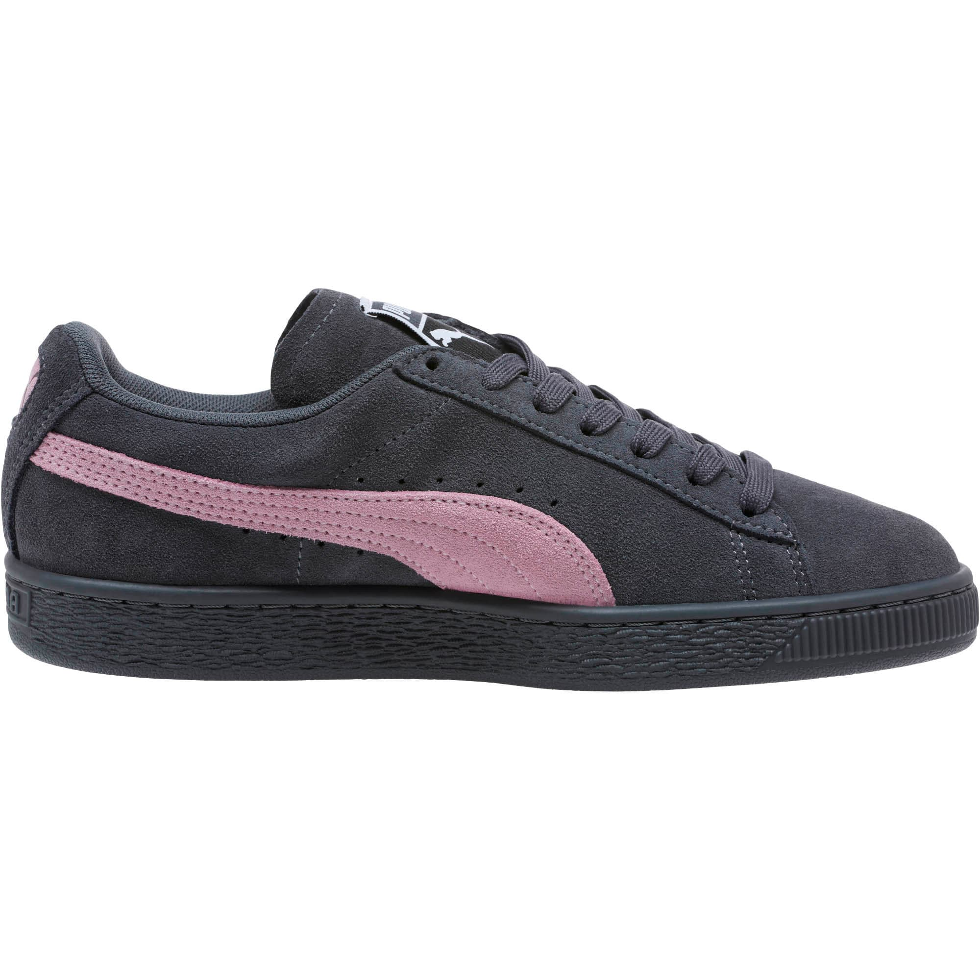 Thumbnail 3 of Suede Classic Women's Sneakers, Iron Gate-Winsome Orchid, medium