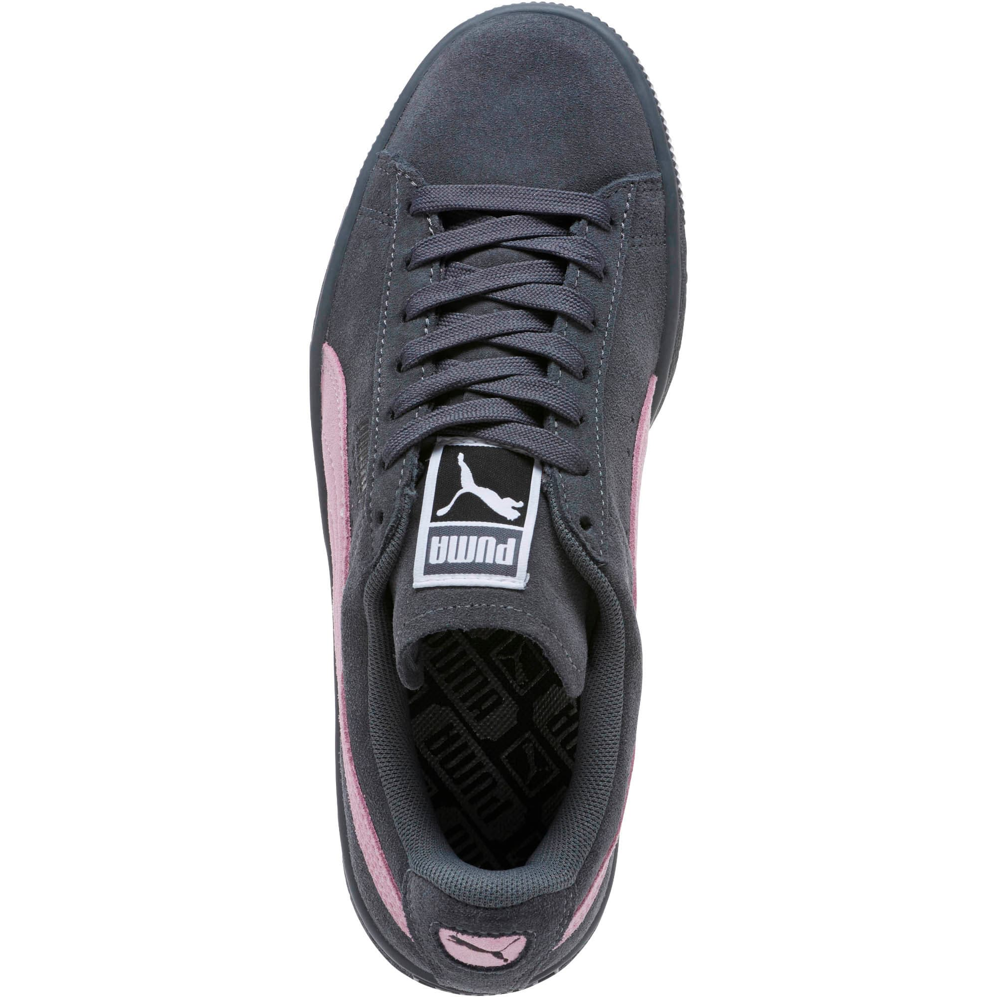 Thumbnail 5 of Suede Classic Women's Sneakers, Iron Gate-Winsome Orchid, medium