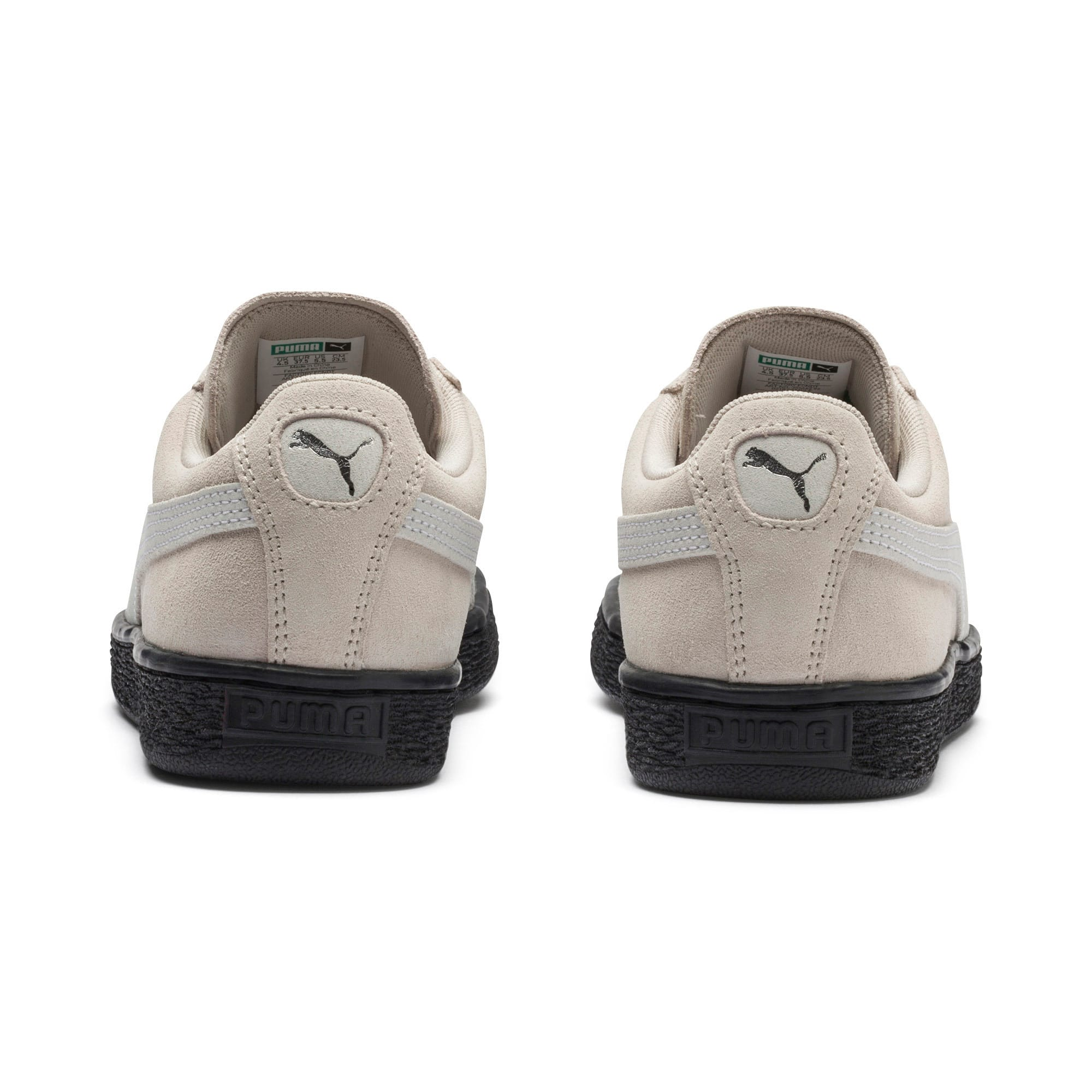 Thumbnail 4 of Suede Classic Women's Sneakers, Silver Gray-Puma White, medium