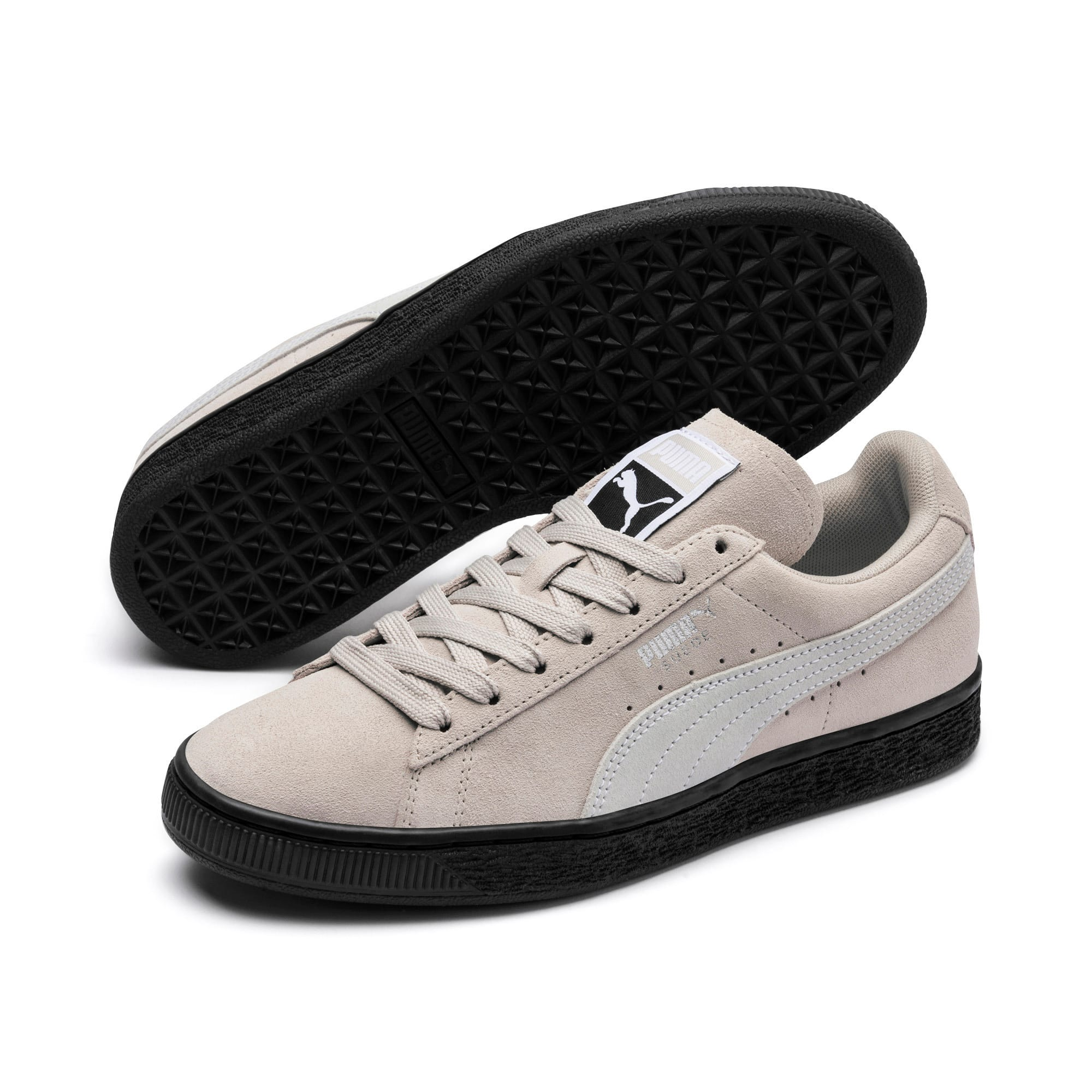 Thumbnail 2 of Suede Classic Women's Sneakers, Silver Gray-Puma White, medium