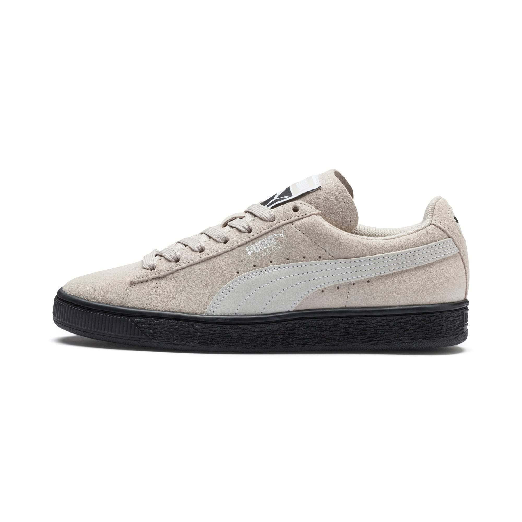 Thumbnail 1 of Suede Classic Women's Sneakers, Silver Gray-Puma White, medium