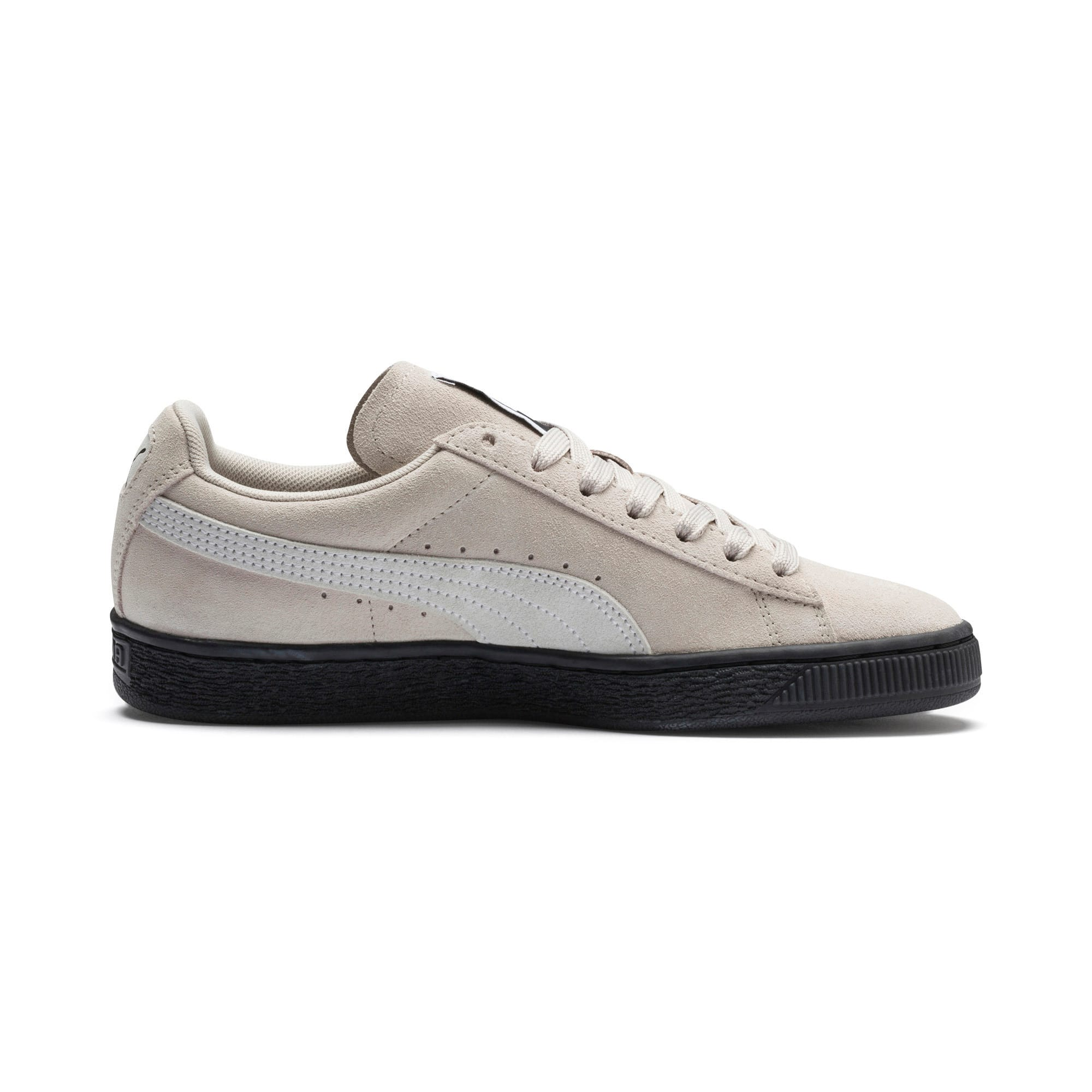Thumbnail 5 of Suede Classic Women's Sneakers, Silver Gray-Puma White, medium