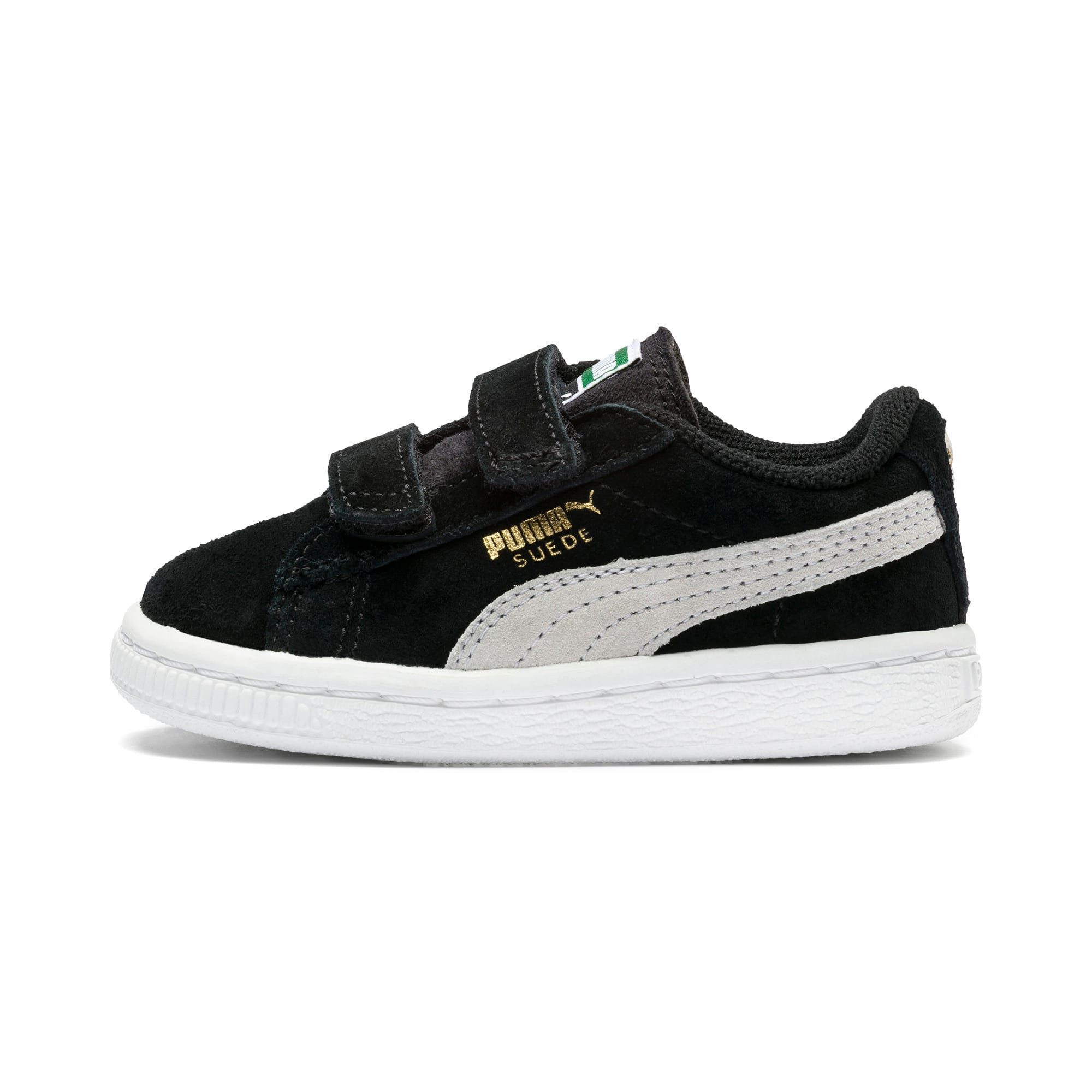 Suede Two strap Babies' Trainers