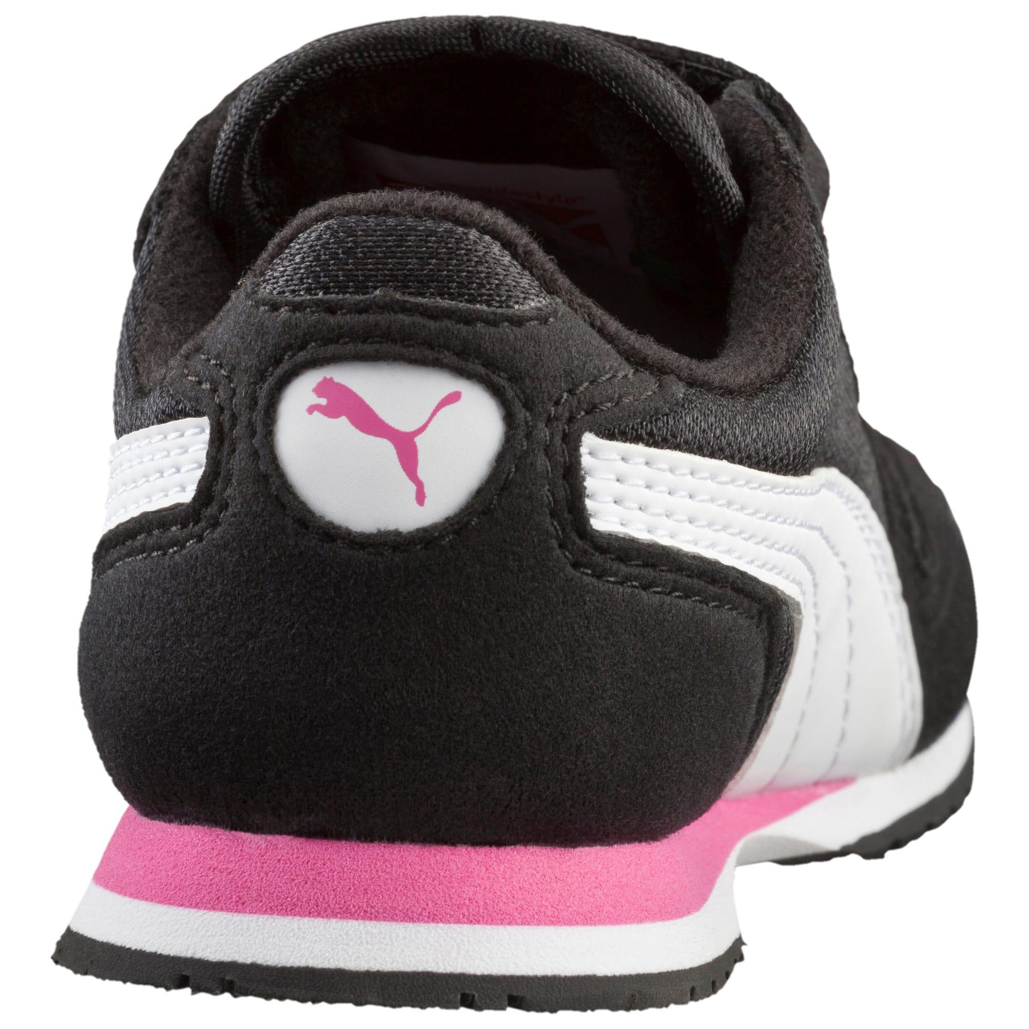 Thumbnail 4 of Cabana Racer Mesh AC Toddler Shoes, black-white-carmine rose, medium