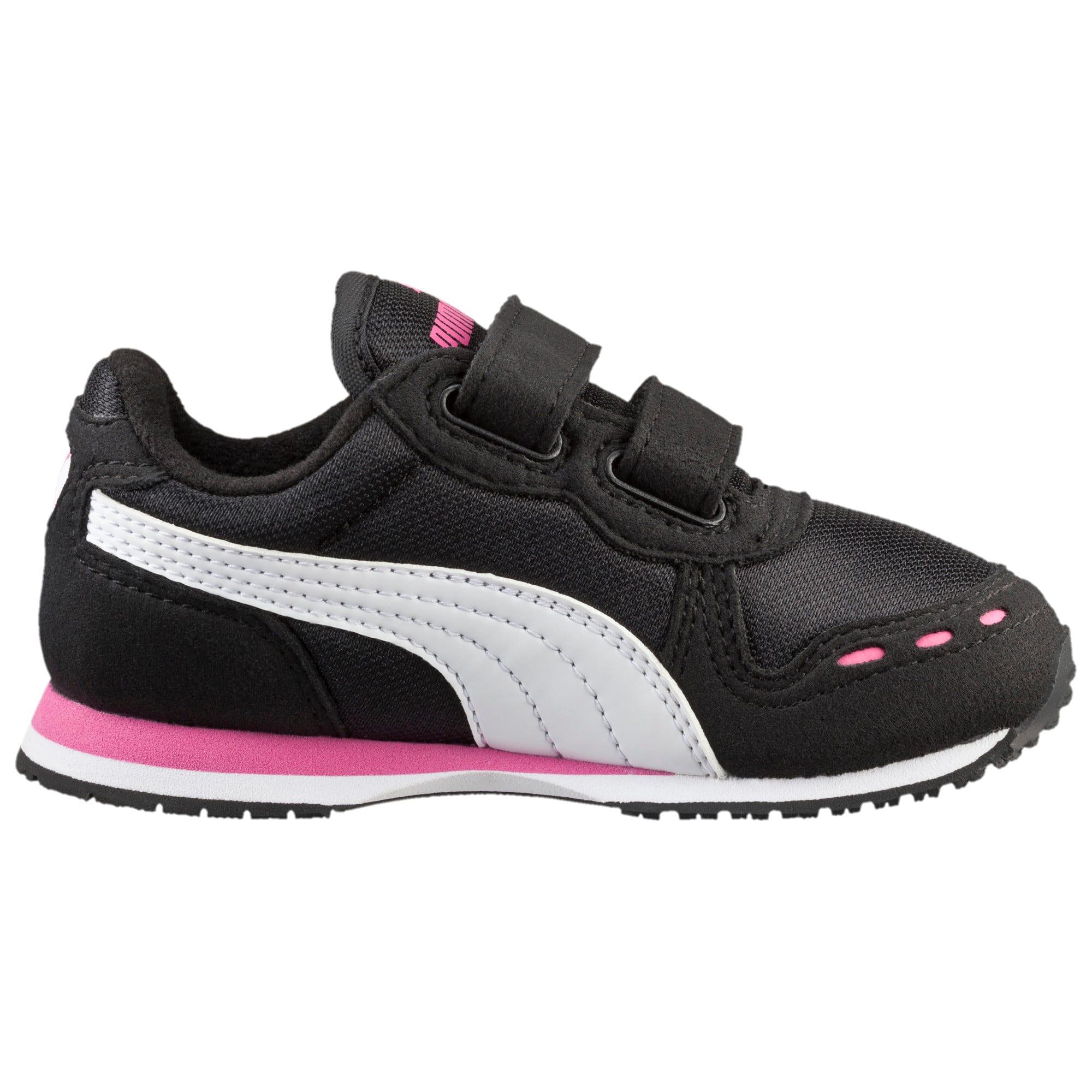 Thumbnail 3 of Cabana Racer Mesh AC Toddler Shoes, black-white-carmine rose, medium